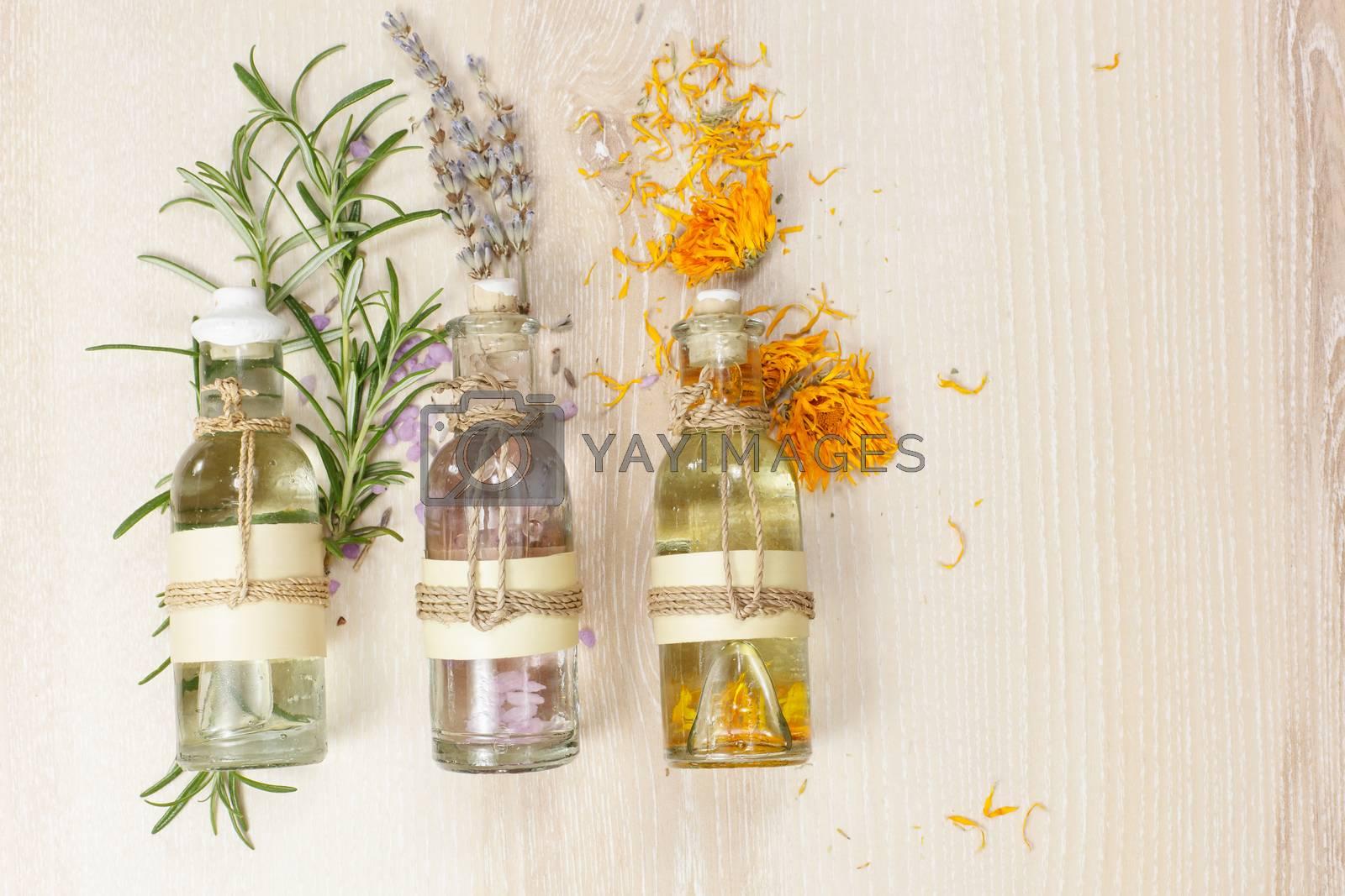 Aromatherapy massage oils. by Slast20