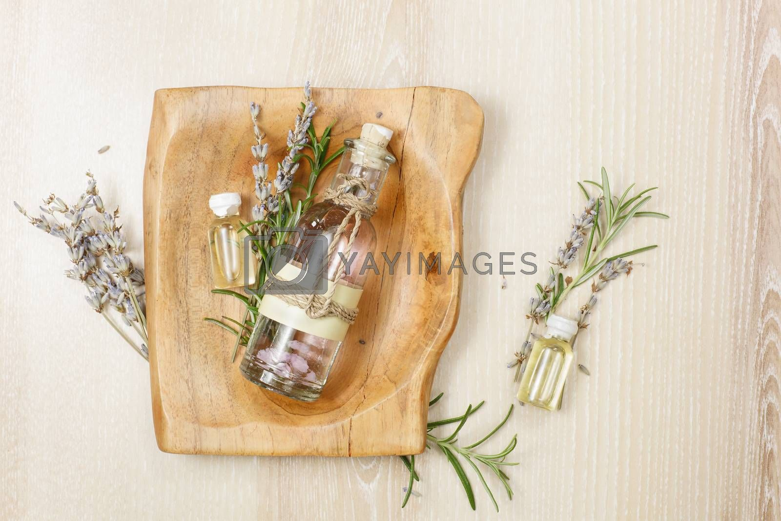 Rosemary and lavender essential oil by Slast20