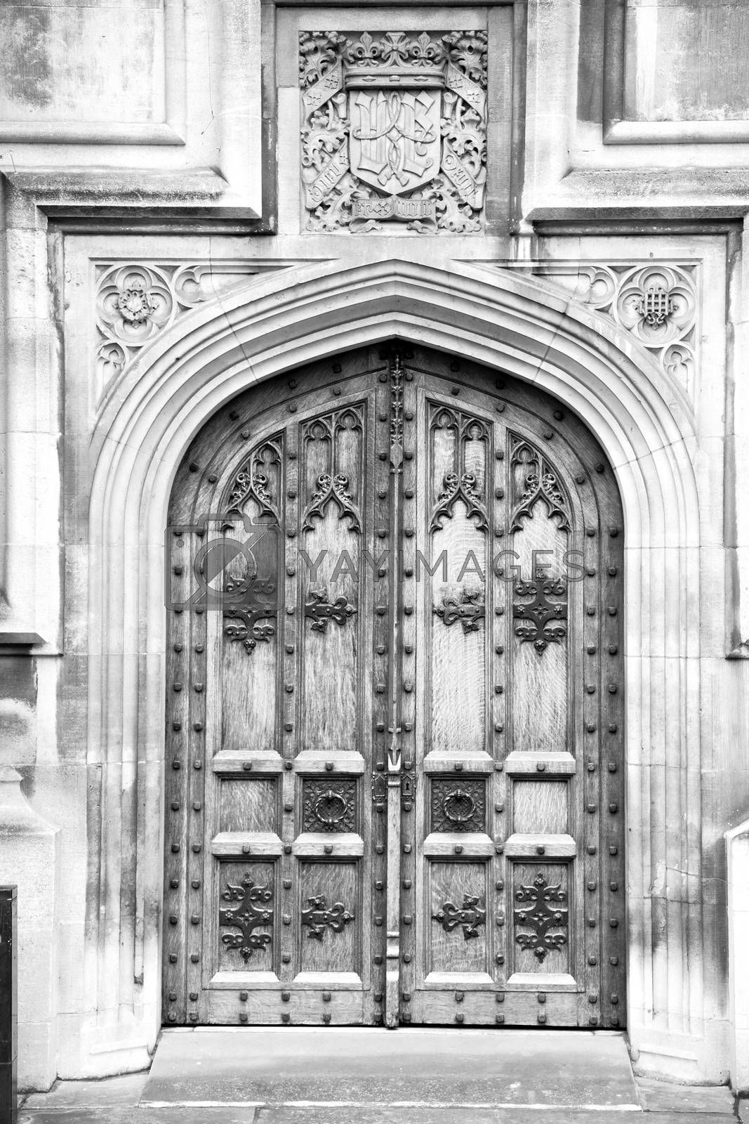 parliament in london old church door and marble antique  wall by lkpro
