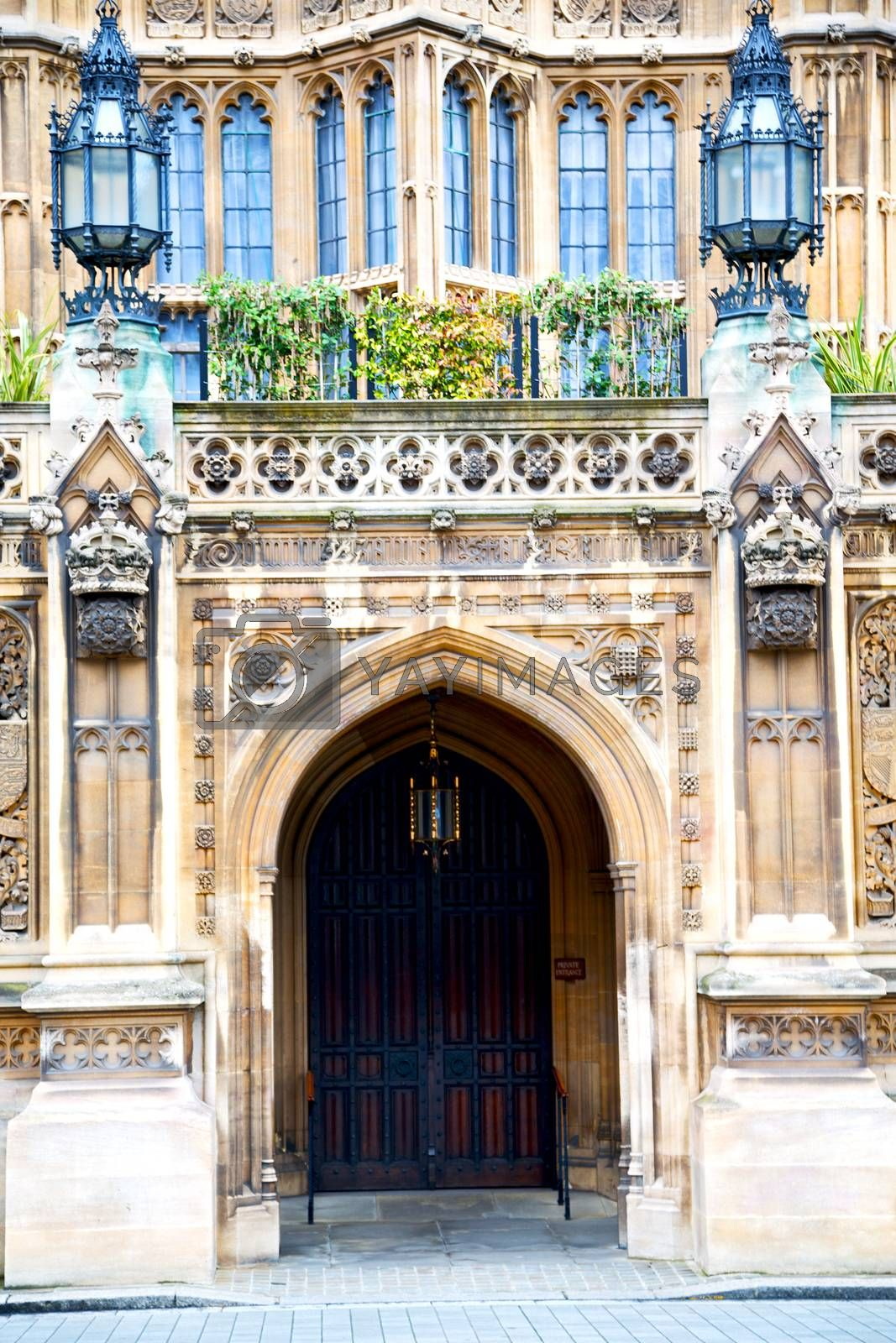 parliament in church door and marble antique  wall by lkpro