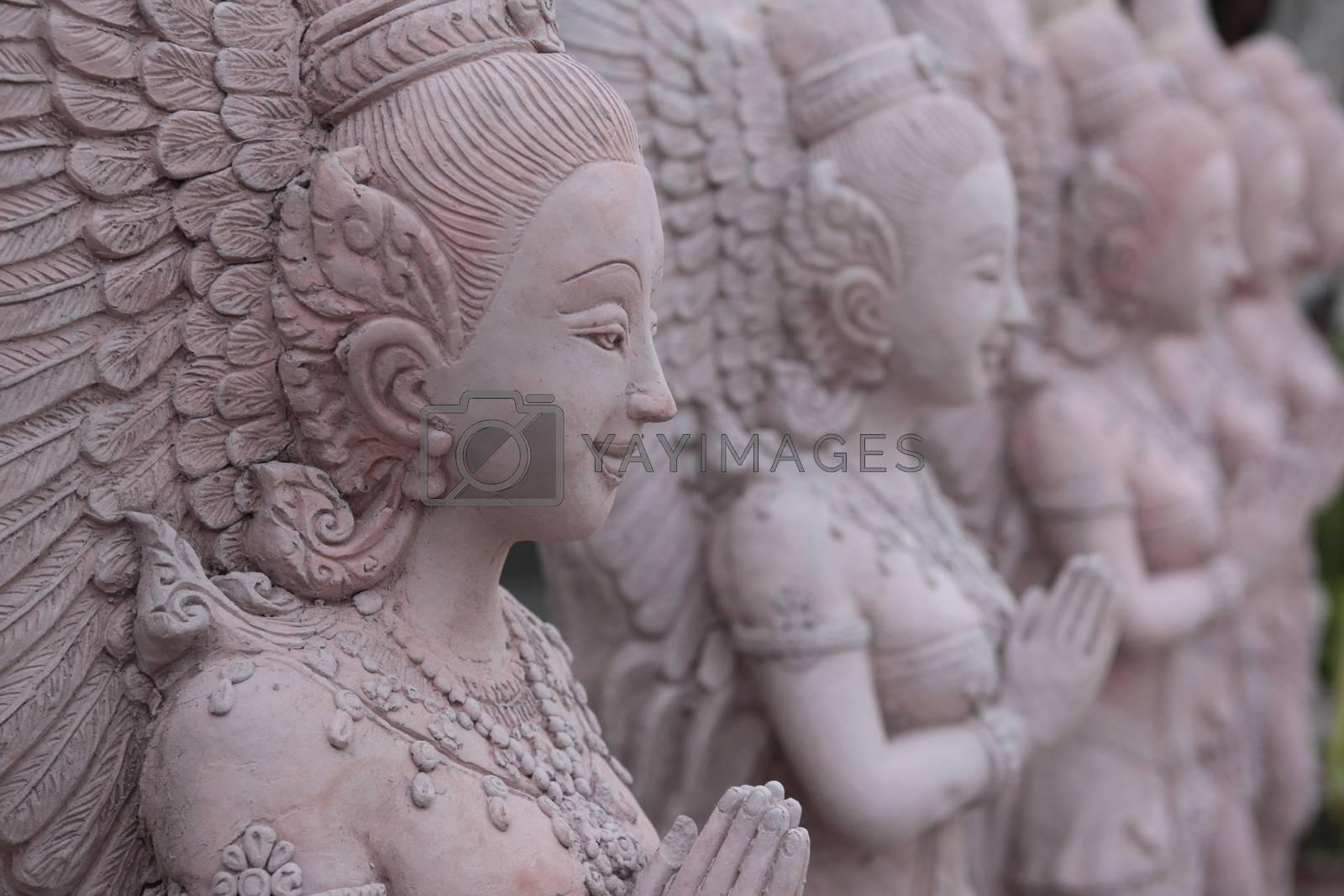ASIA THAILAND ISAN KHORAT SKULPTURE FACTORY by urf