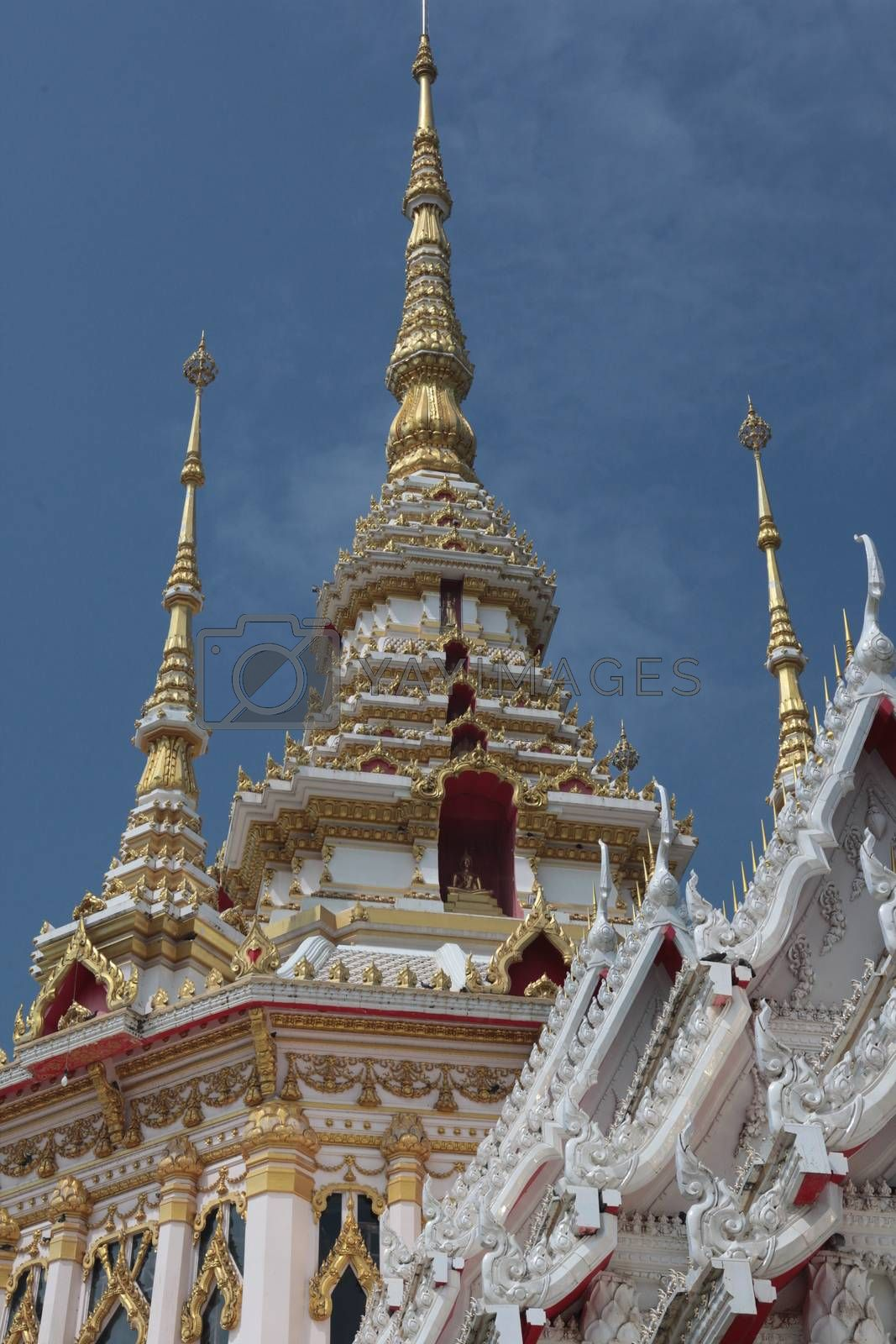 ASIA THAILAND ISAN KHORAT WAT TEMPLE by urf