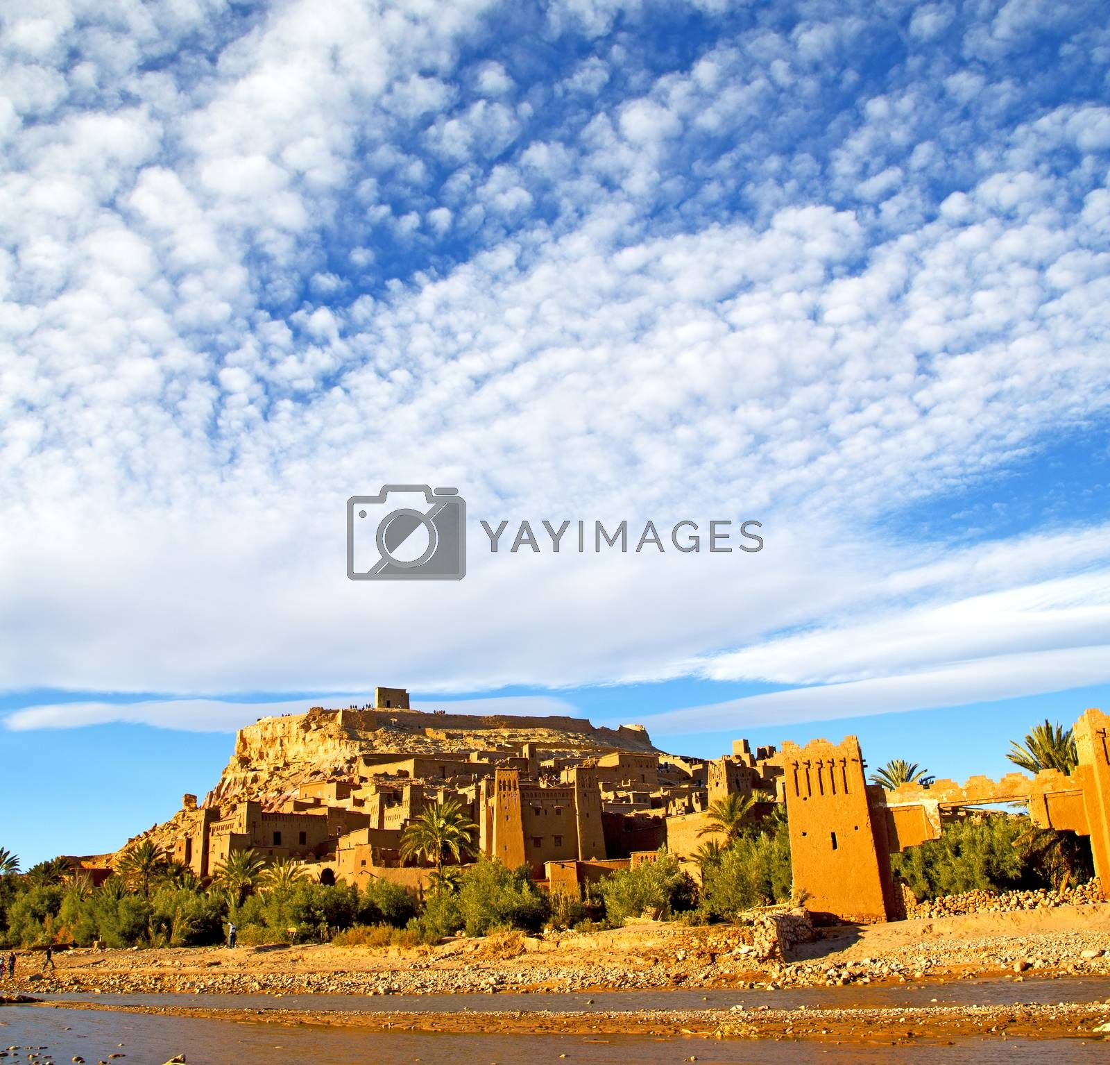 africa in morocco the old contruction and the historical village by lkpro