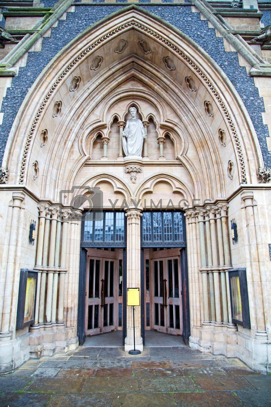 door southwark  cathedral in london religion by lkpro