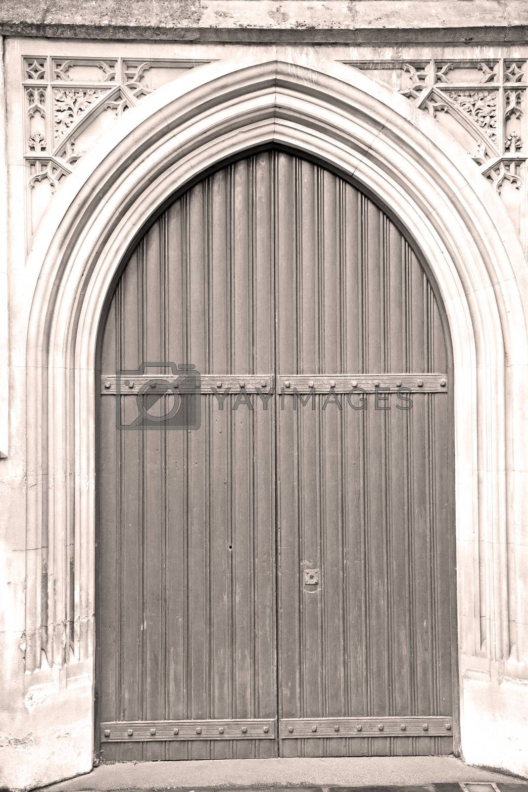 door southwark  cathedral in london england old  construction an by lkpro