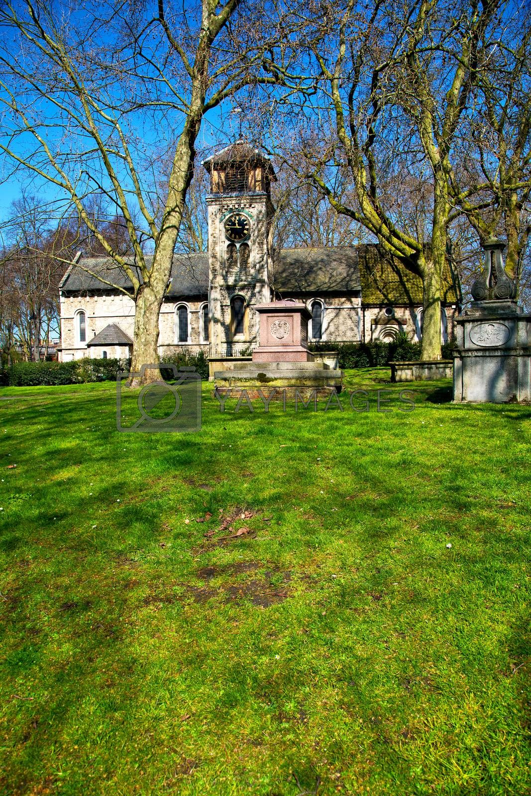 in cemetery  england old construction and    history by lkpro