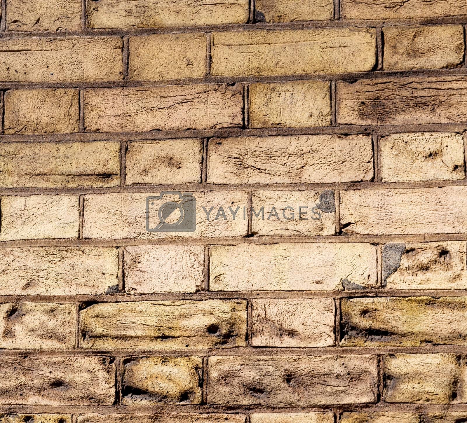 in london abstract    texture of a ancien wall and ruined brick by lkpro