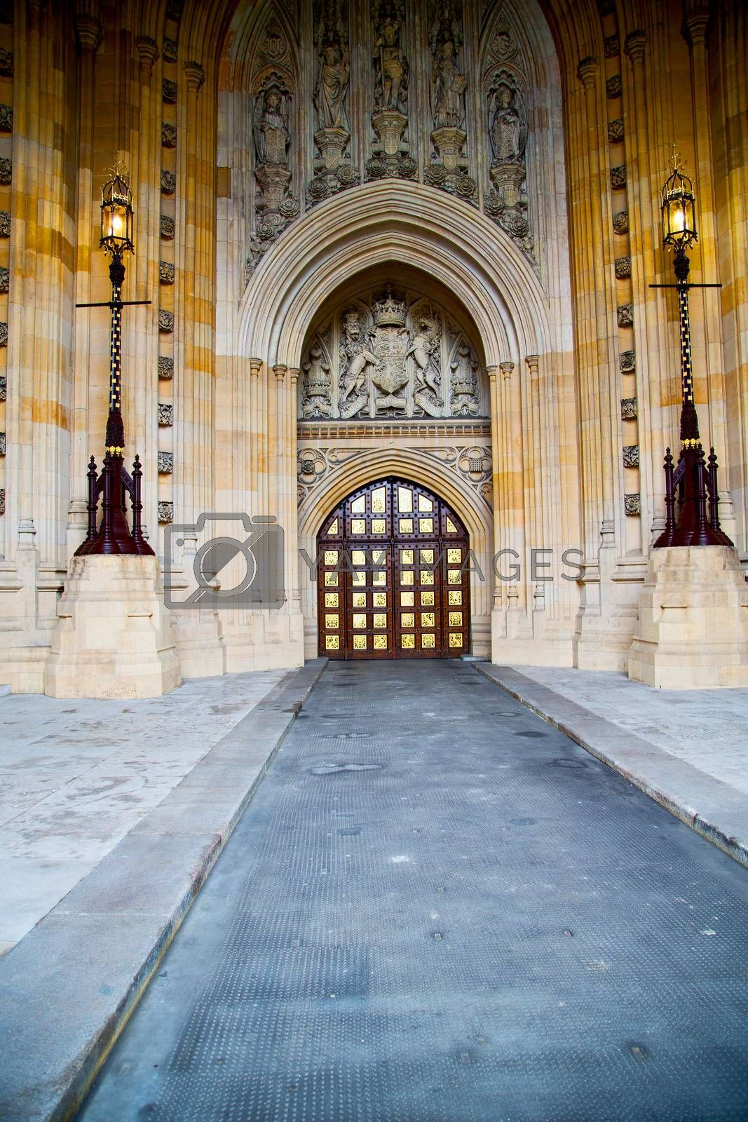parliament in london  church  marble antique  wall by lkpro