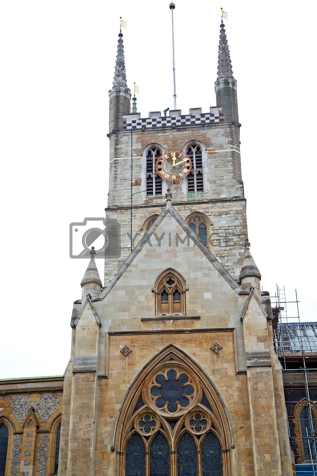 southwark  in london england old  construction  religion by lkpro