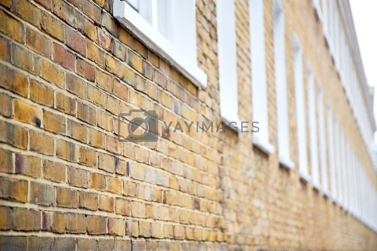 old window in europe london  red brick        historical  by lkpro