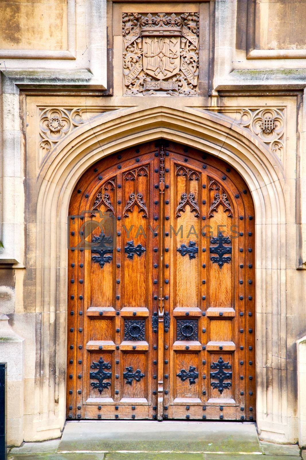 parliament in london door and marble antique    by lkpro