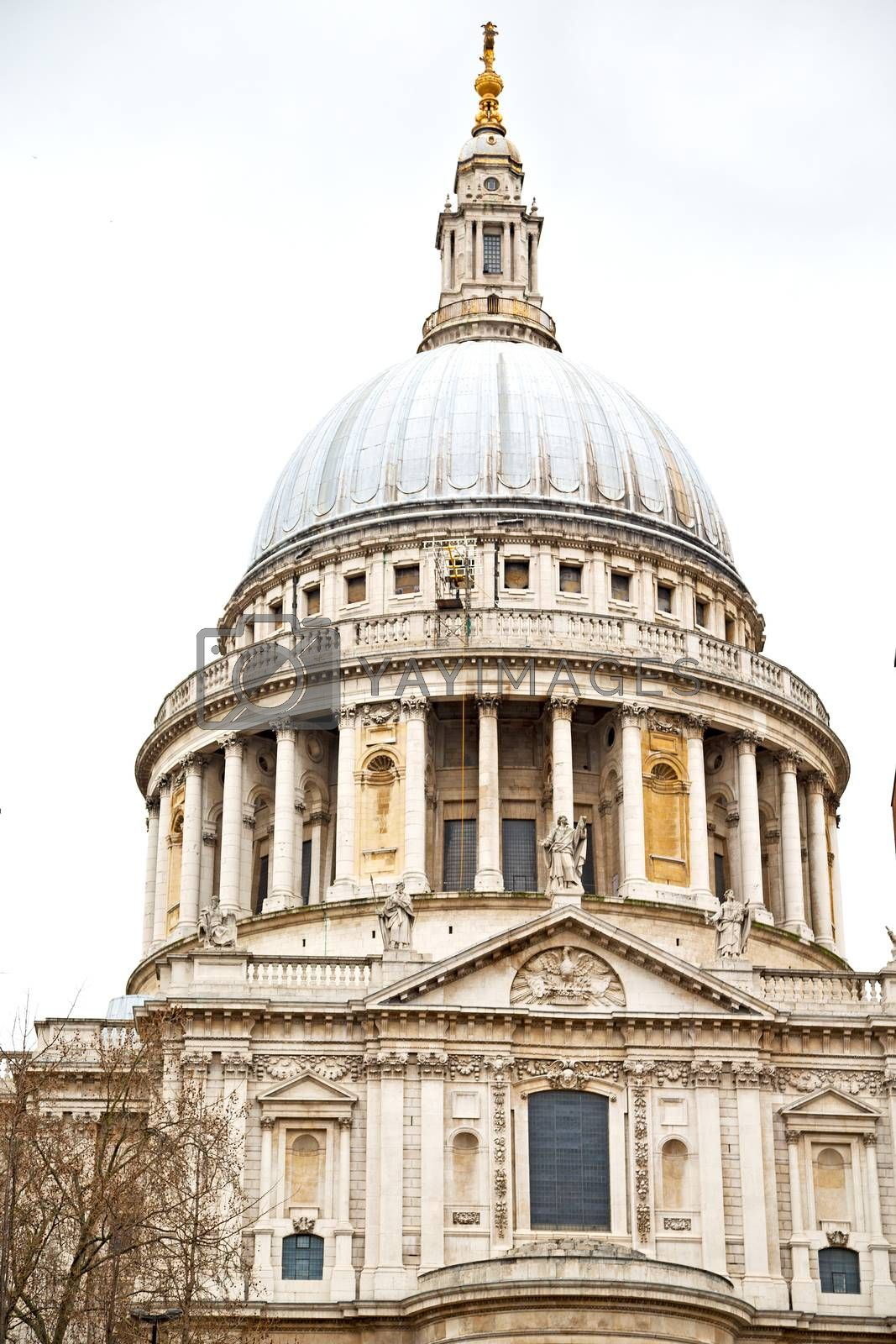 st paul cathedral in   construction  religion by lkpro