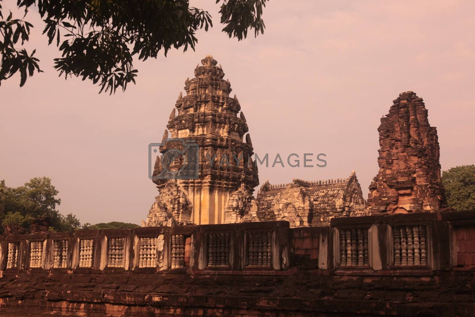 ASIA THAILAND ISAN KHORAT PHIMAI KHMER TEMPLE by urf