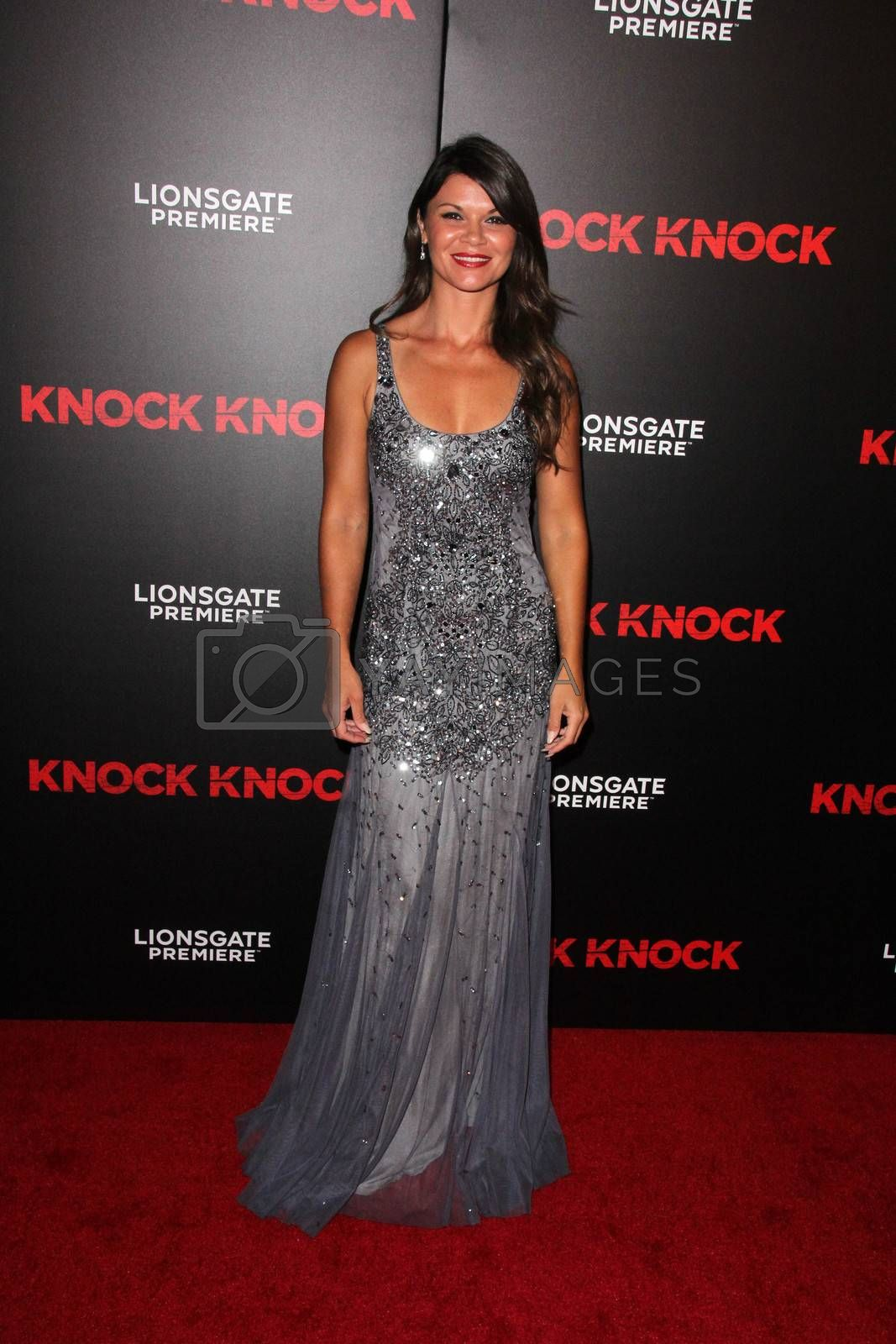 """Danielle Vasinova at the """"Knock Knock"""" Los Angeles Premiere, TCL Chinese Theater, Hollywood, CA 10-08-15/ImageCollect by ImageCollect"""
