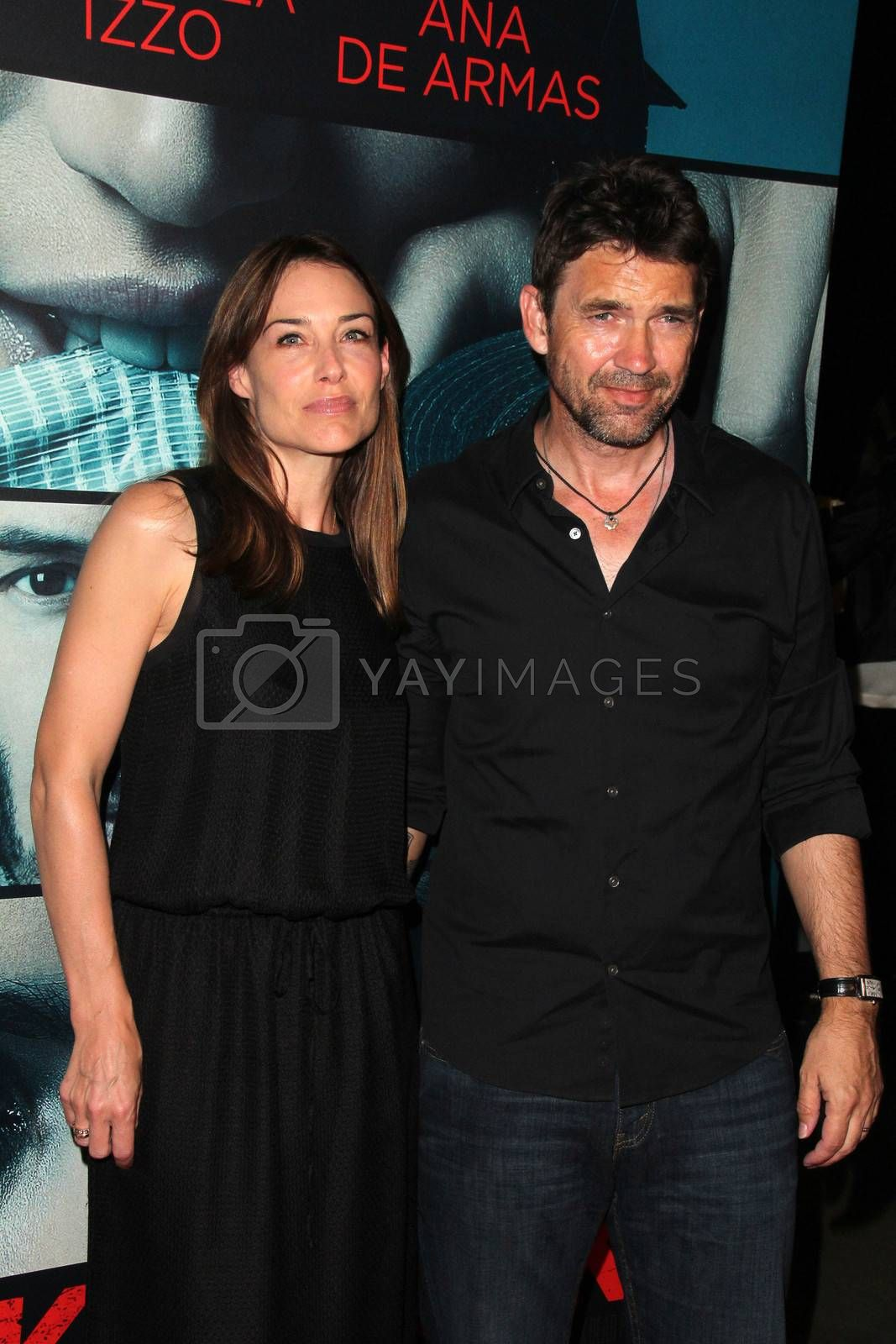 """Claire Forlani, Dougray Scott at the """"Knock Knock"""" Los Angeles Premiere, TCL Chinese Theater, Hollywood, CA 10-08-15/ImageCollect by ImageCollect"""