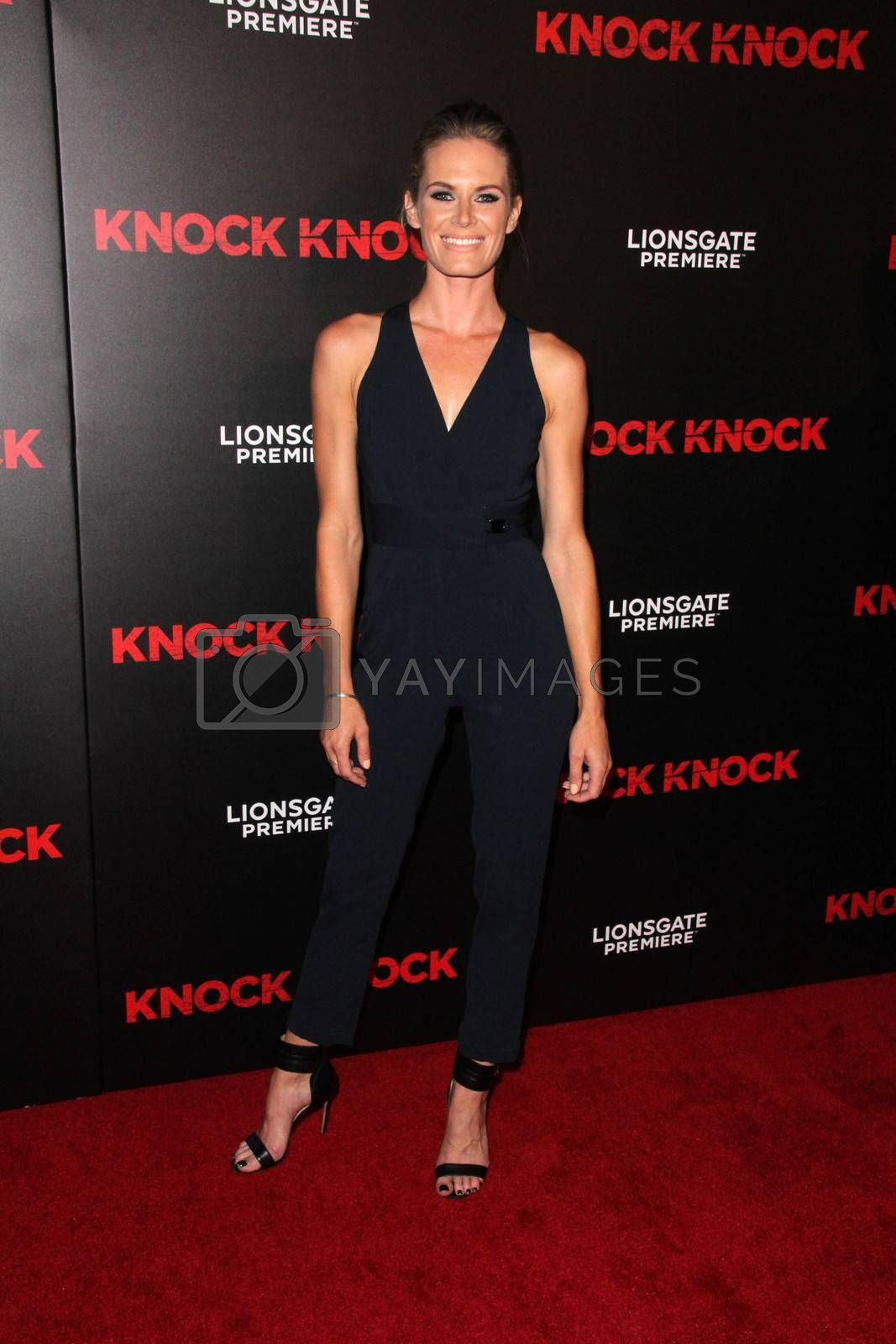 """Lauren Shaw at the """"Knock Knock"""" Los Angeles Premiere, TCL Chinese Theater, Hollywood, CA 10-08-15/ImageCollect by ImageCollect"""