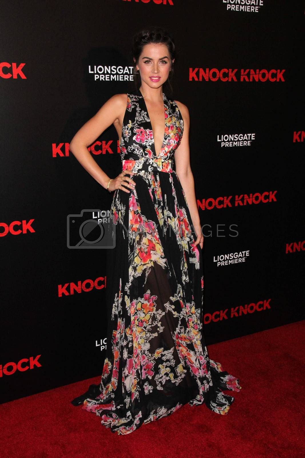 """Ana de Armas at the """"Knock Knock"""" Los Angeles Premiere, TCL Chinese Theater, Hollywood, CA 10-08-15/ImageCollect by ImageCollect"""
