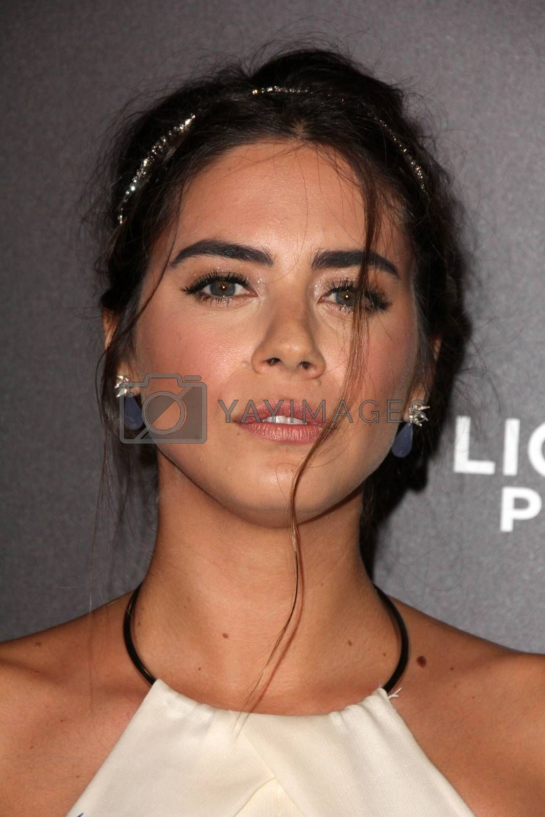 """Lorenza Izzo at the """"Knock Knock"""" Los Angeles Premiere, TCL Chinese Theater, Hollywood, CA 10-08-15/ImageCollect by ImageCollect"""
