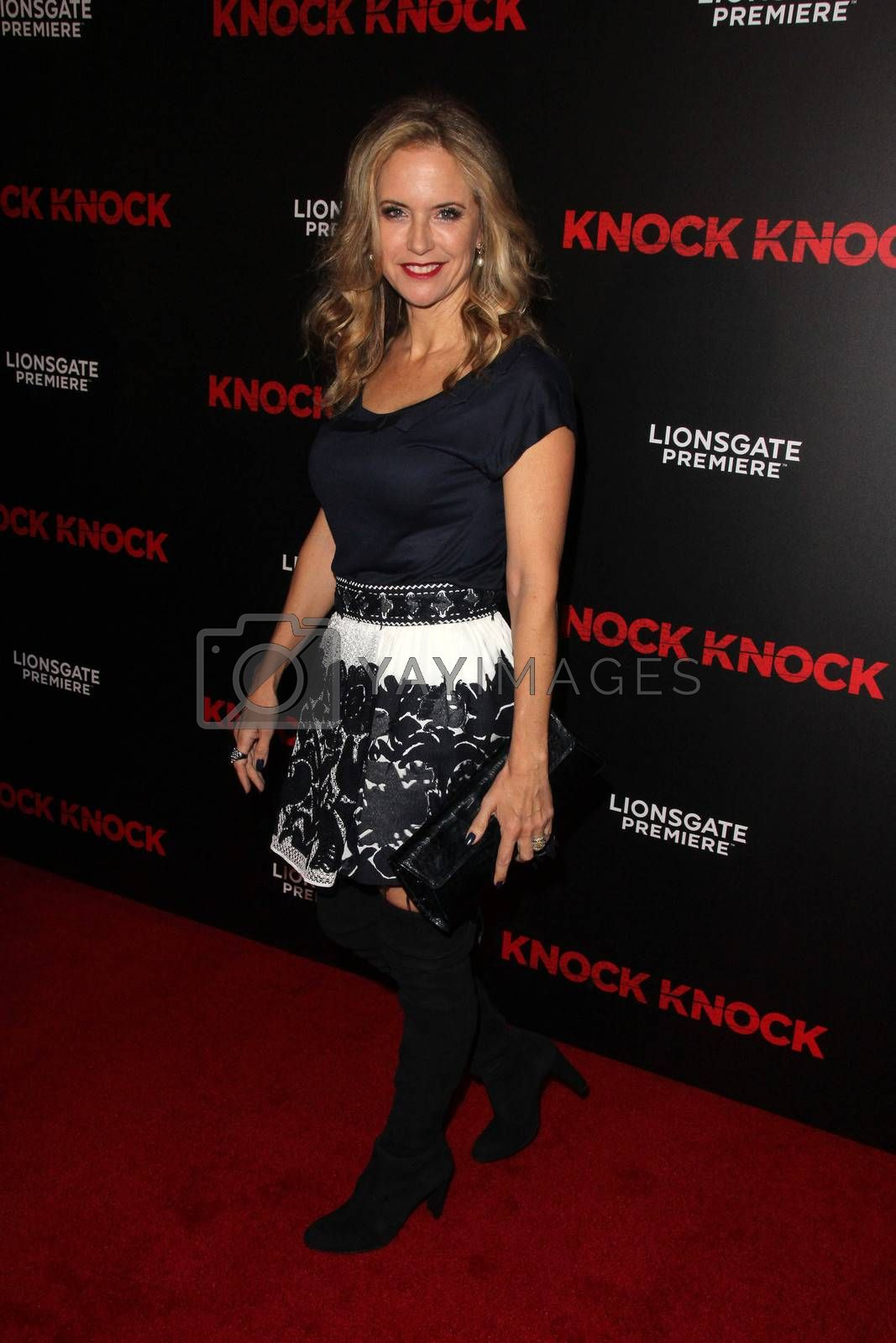 "Kelly Preston at the ""Knock Knock"" Los Angeles Premiere, TCL Chinese Theater, Hollywood, CA 10-08-15/ImageCollect by ImageCollect"