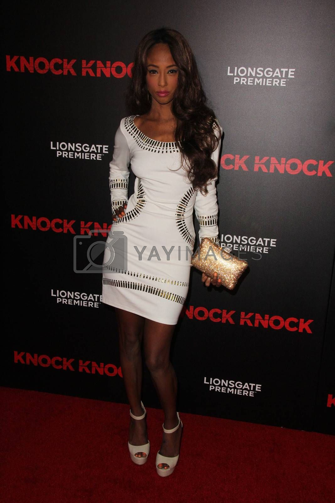 """Trina McGee-Davis at the """"Knock Knock"""" Los Angeles Premiere, TCL Chinese Theater, Hollywood, CA 10-08-15/ImageCollect by ImageCollect"""