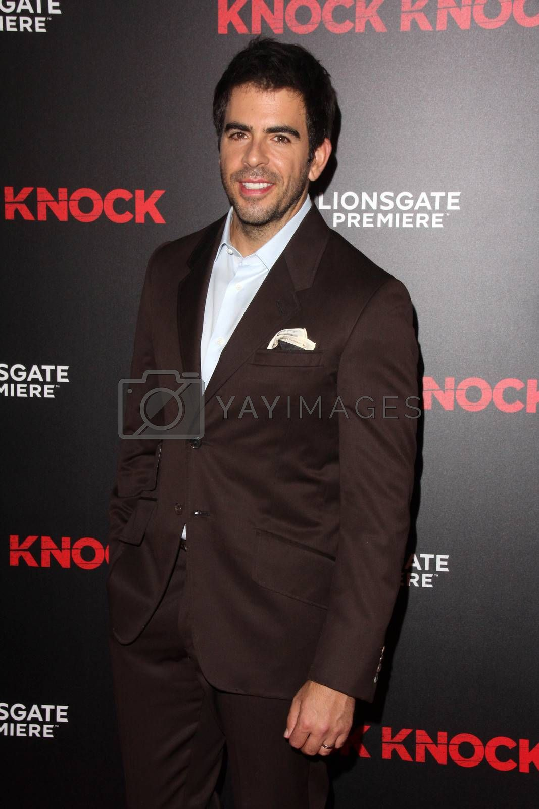 "Eli Roth at the ""Knock Knock"" Los Angeles Premiere, TCL Chinese Theater, Hollywood, CA 10-08-15/ImageCollect by ImageCollect"