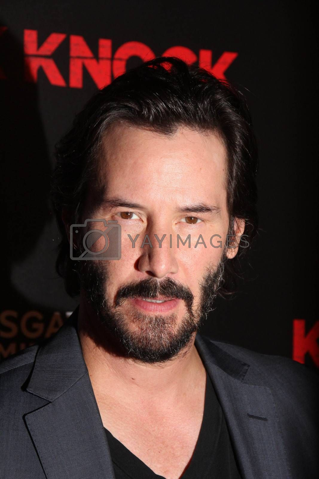 """Keanu Reeves at the """"Knock Knock"""" Los Angeles Premiere, TCL Chinese Theater, Hollywood, CA 10-08-15/ImageCollect by ImageCollect"""