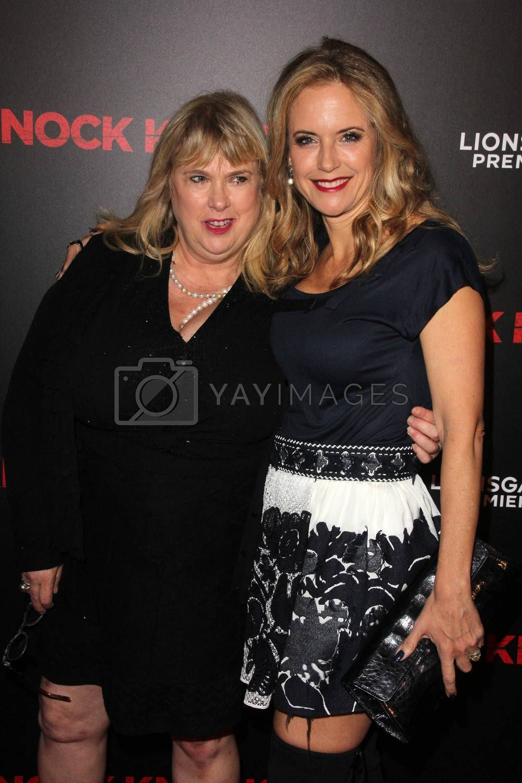 """Colleen Camp, Kelly Preston at the """"Knock Knock"""" Los Angeles Premiere, TCL Chinese Theater, Hollywood, CA 10-08-15/ImageCollect by ImageCollect"""