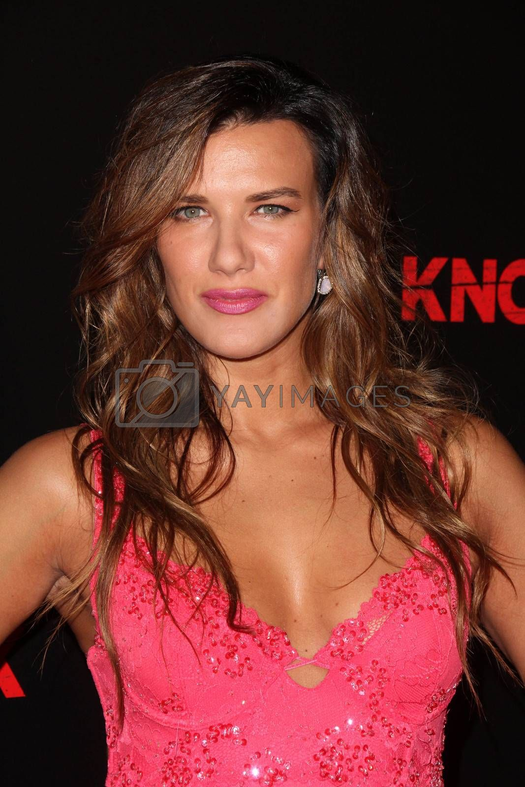 """Natalie Burn at the """"Knock Knock"""" Los Angeles Premiere, TCL Chinese Theater, Hollywood, CA 10-08-15/ImageCollect by ImageCollect"""