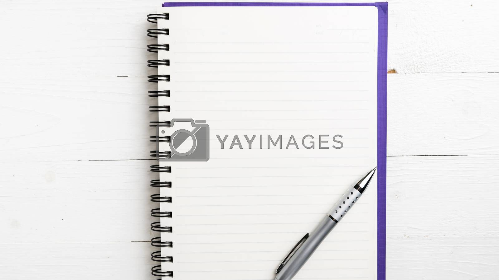 notepad with pen by ammza12