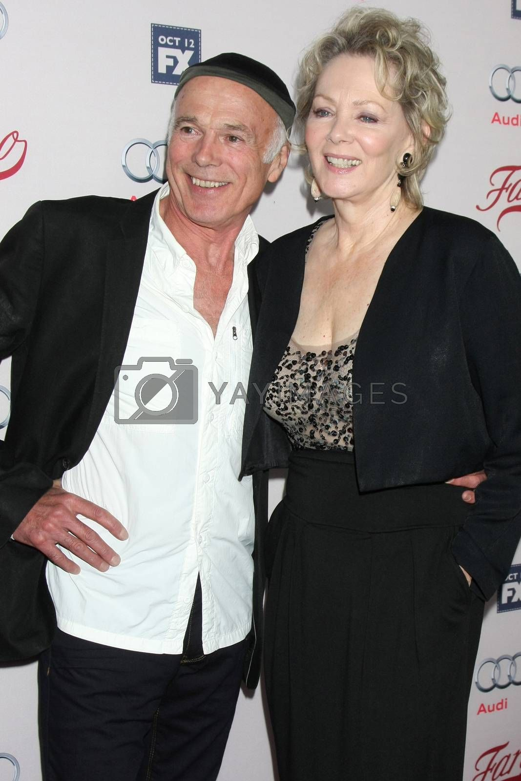 """Michael Hogan, Jean Smart at the """"Fargo"""" Season 2 Premiere Screening, ArcLight, Hollywood, CA 10-07-15/ImageCollect by ImageCollect"""