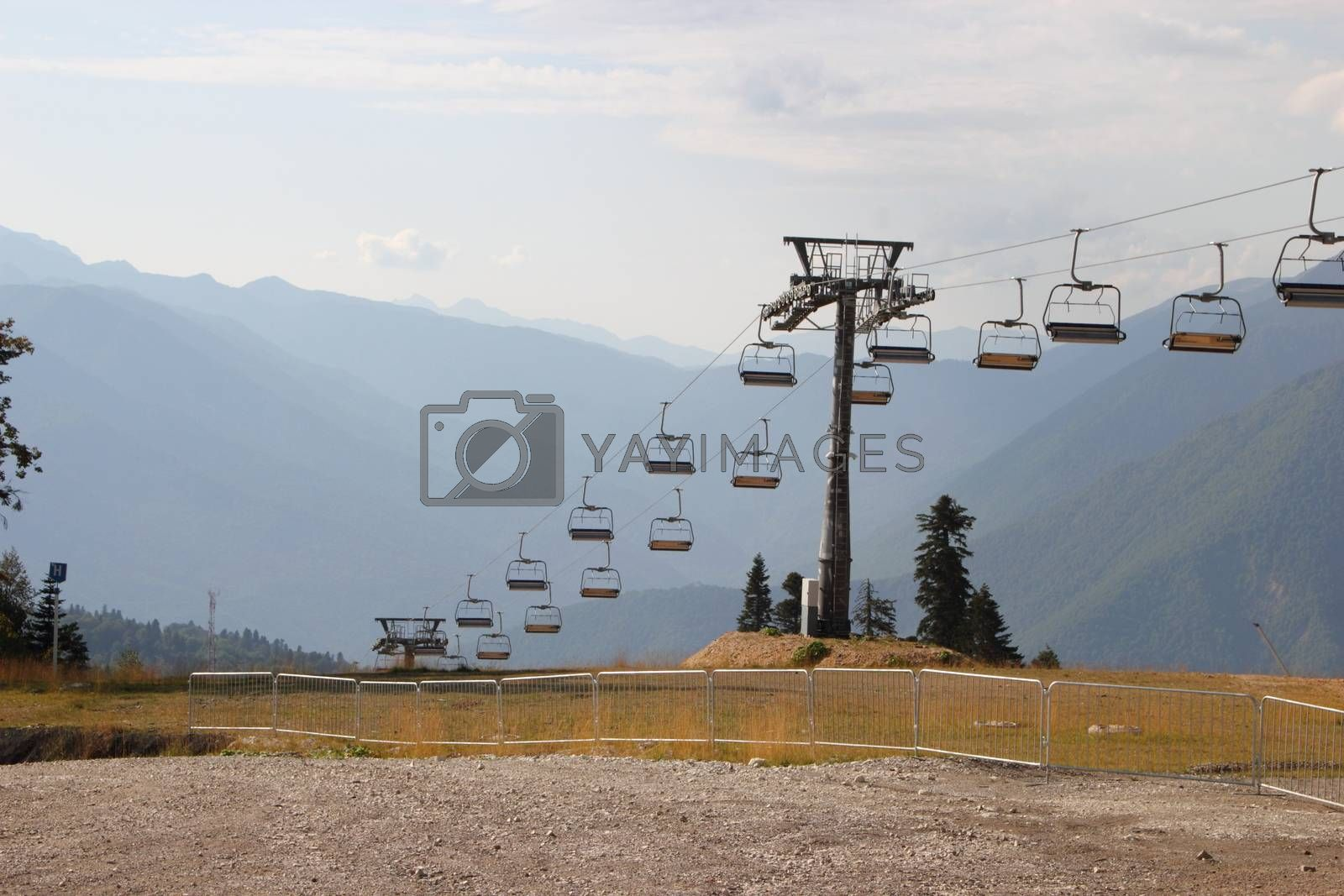 Mountain View in Sochi  with lifts by Metanna