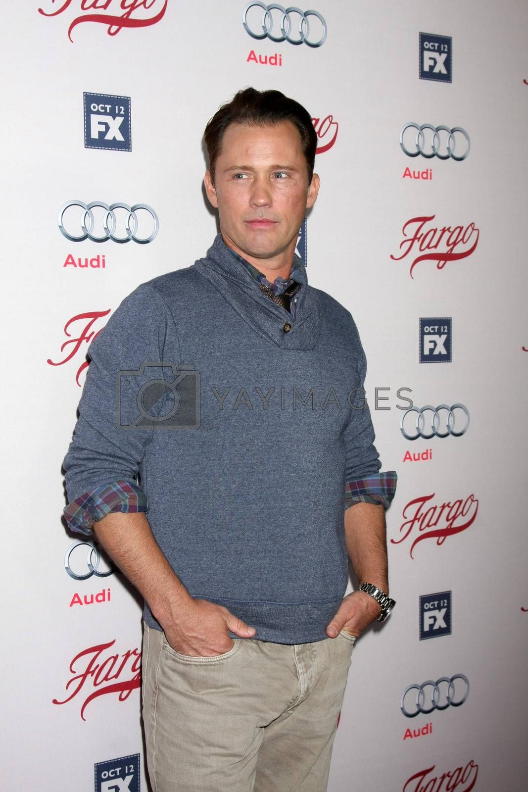 """Jeffrey Donovan at the """"Fargo"""" Season 2 Premiere Screening, ArcLight, Hollywood, CA 10-07-15/ImageCollect by ImageCollect"""
