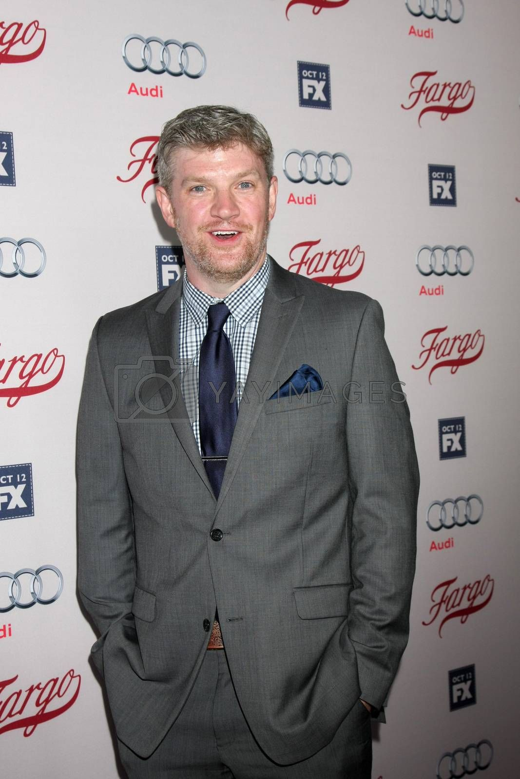 "Mike Bradecich at the ""Fargo"" Season 2 Premiere Screening, ArcLight, Hollywood, CA 10-07-15/ImageCollect by ImageCollect"