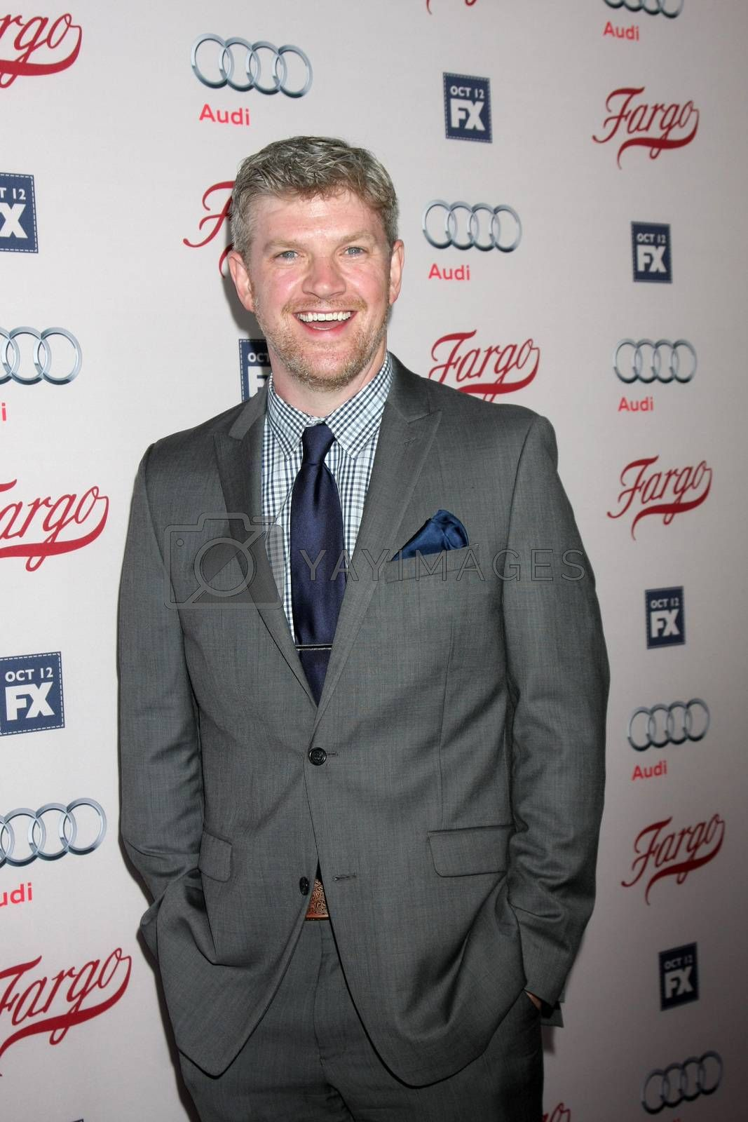 """Mike Bradecich at the """"Fargo"""" Season 2 Premiere Screening, ArcLight, Hollywood, CA 10-07-15/ImageCollect by ImageCollect"""