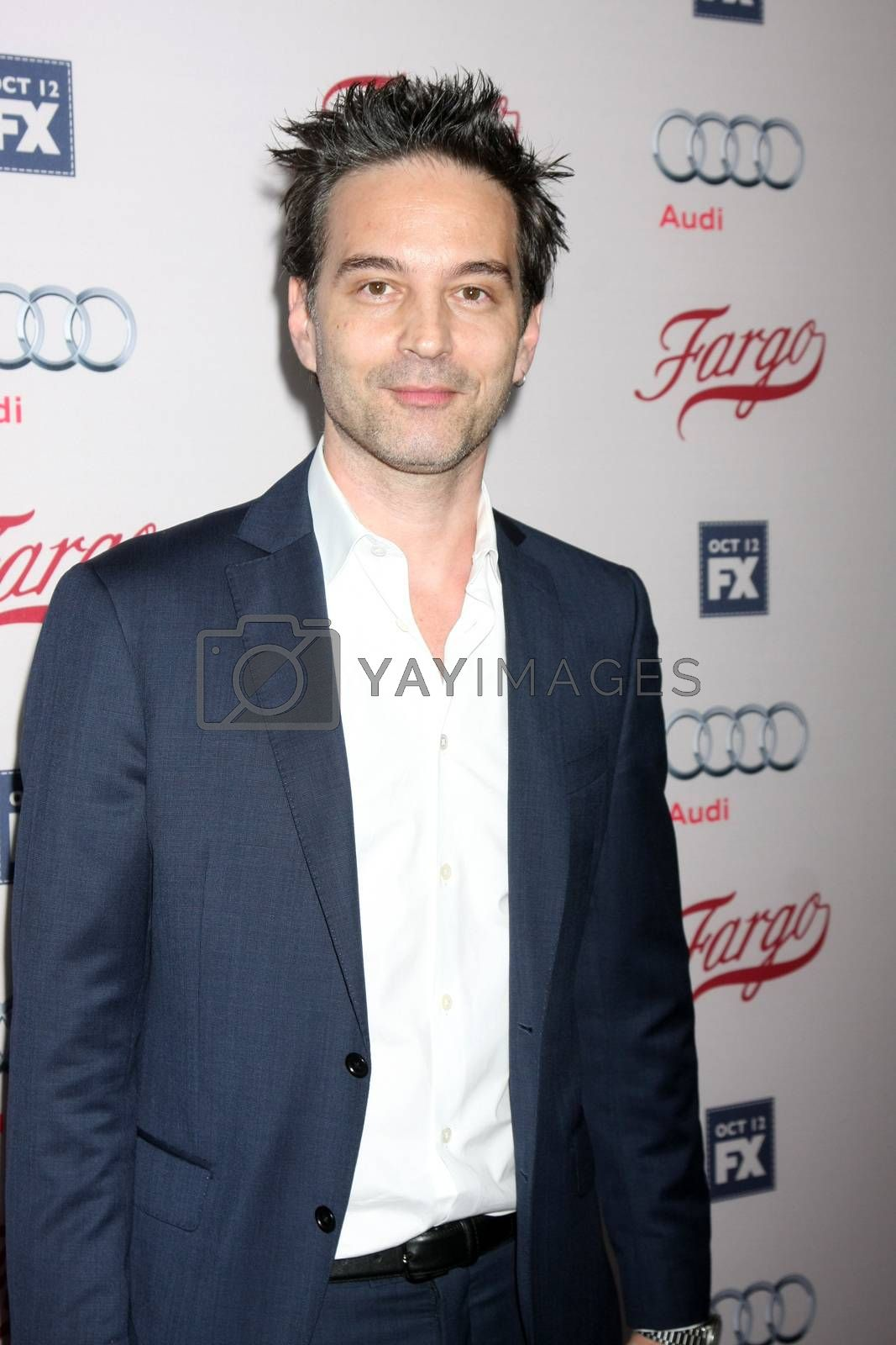 """Jeff Russo at the """"Fargo"""" Season 2 Premiere Screening, ArcLight, Hollywood, CA 10-07-15/ImageCollect by ImageCollect"""
