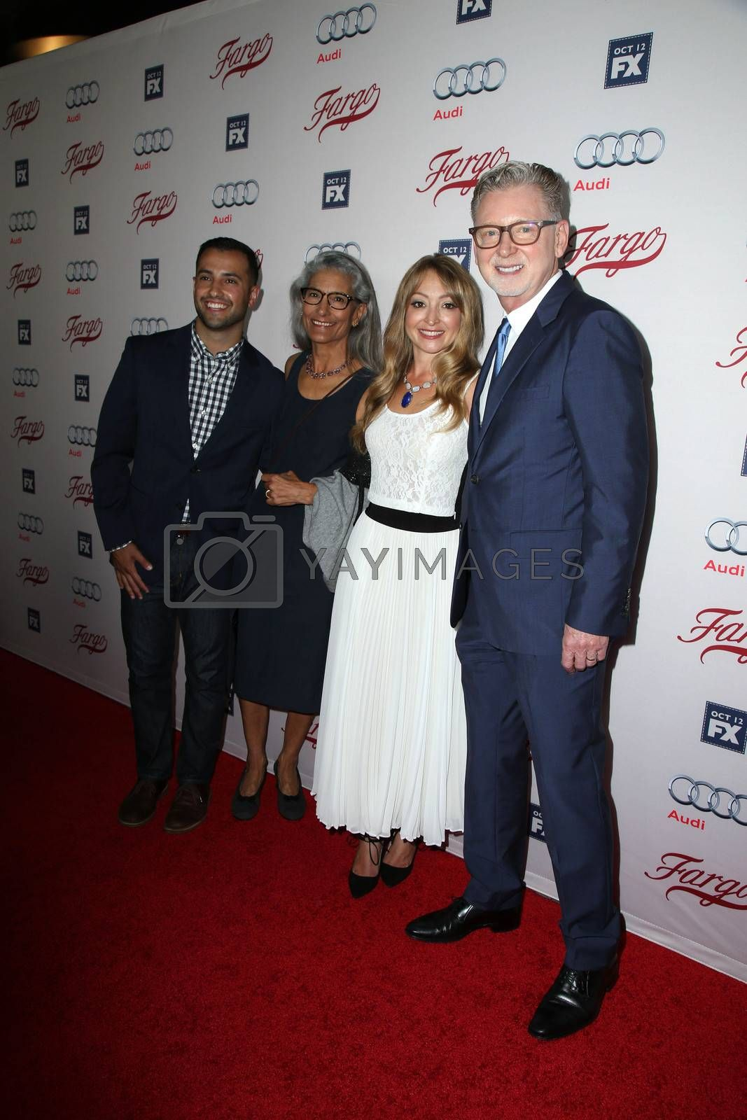 """Warren Littlefield at the """"Fargo"""" Season 2 Premiere Screening, ArcLight, Hollywood, CA 10-07-15/ImageCollect by ImageCollect"""