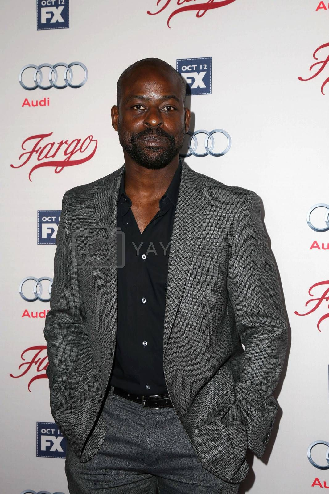 "Sterling Brown at the ""Fargo"" Season 2 Premiere Screening, ArcLight, Hollywood, CA 10-07-15/ImageCollect by ImageCollect"