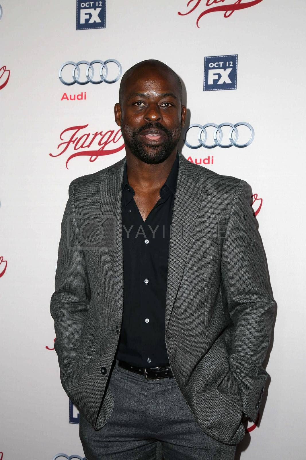 """Sterling Brown at the """"Fargo"""" Season 2 Premiere Screening, ArcLight, Hollywood, CA 10-07-15/ImageCollect by ImageCollect"""