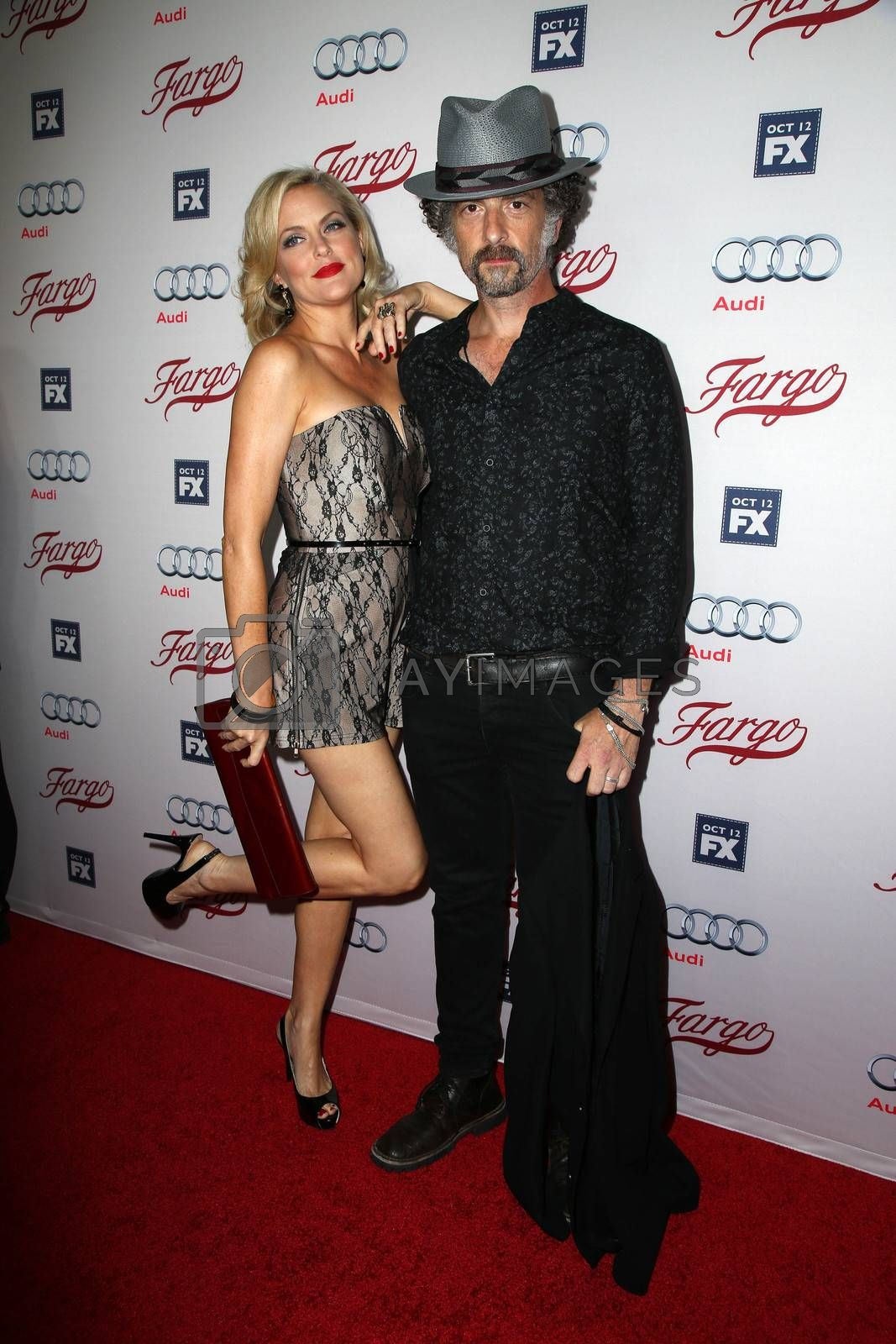 "Elaine Hendrix, John Ales at the ""Fargo"" Season 2 Premiere Screening, ArcLight, Hollywood, CA 10-07-15/ImageCollect by ImageCollect"