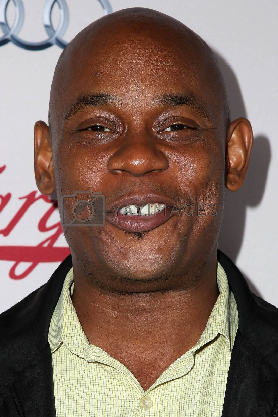 """Bokeem Woodbine at the """"Fargo"""" Season 2 Premiere Screening, ArcLight, Hollywood, CA 10-07-15/ImageCollect by ImageCollect"""