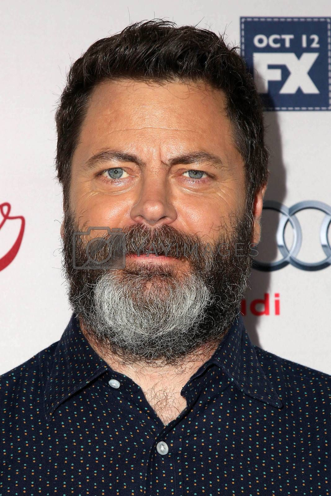 "Nick Offerman at the ""Fargo"" Season 2 Premiere Screening, ArcLight, Hollywood, CA 10-07-15/ImageCollect by ImageCollect"