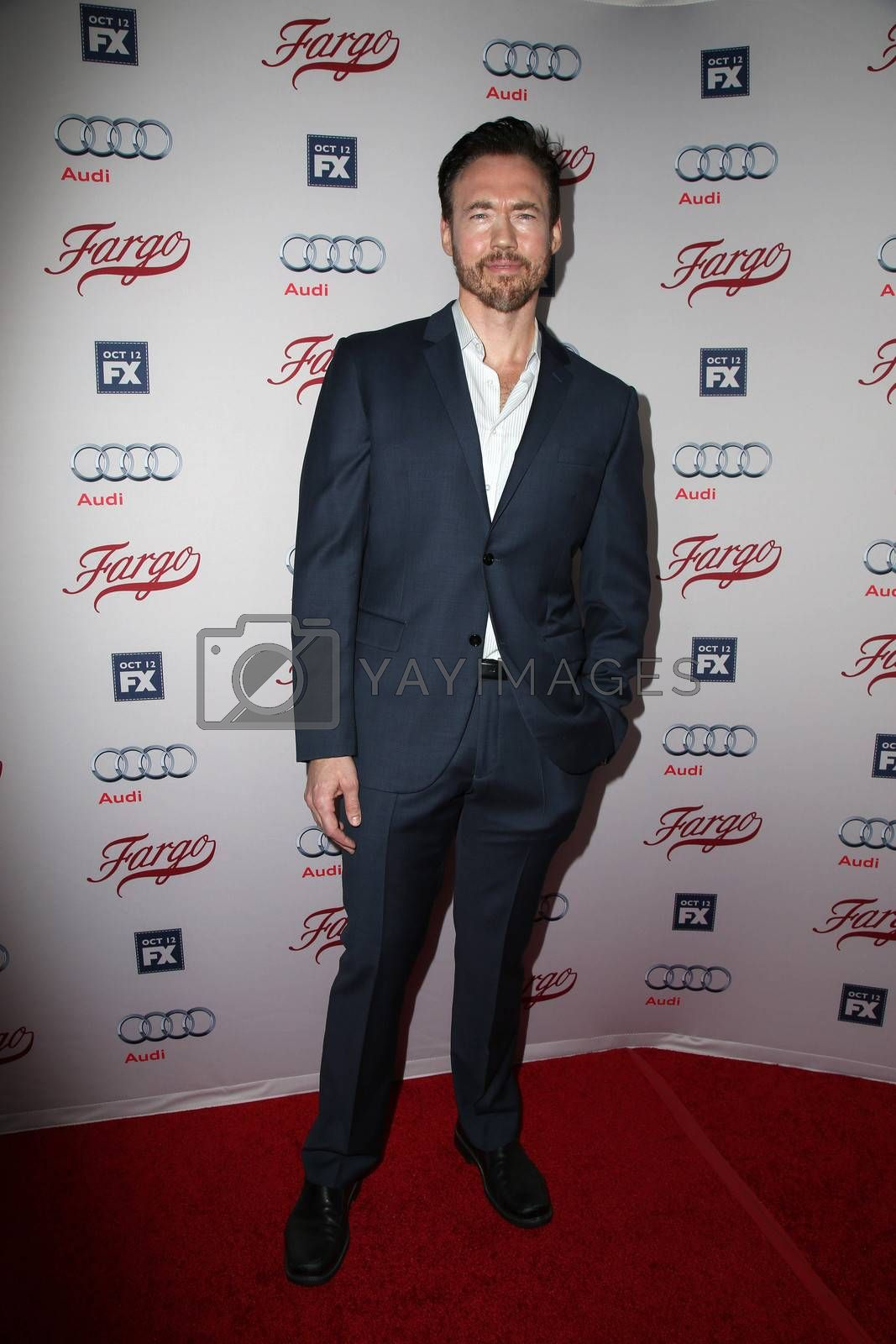 """Kevin Durand at the """"Fargo"""" Season 2 Premiere Screening, ArcLight, Hollywood, CA 10-07-15/ImageCollect by ImageCollect"""