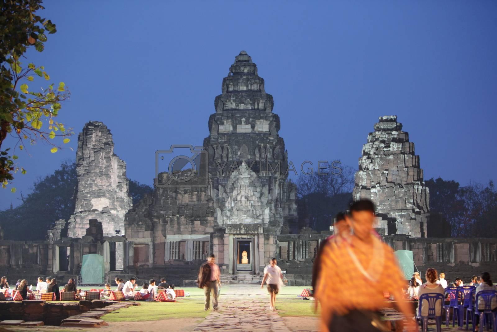 ASIA THAILAND ISAN KHORAT PHIMAI KHMER TEMPLE by urf