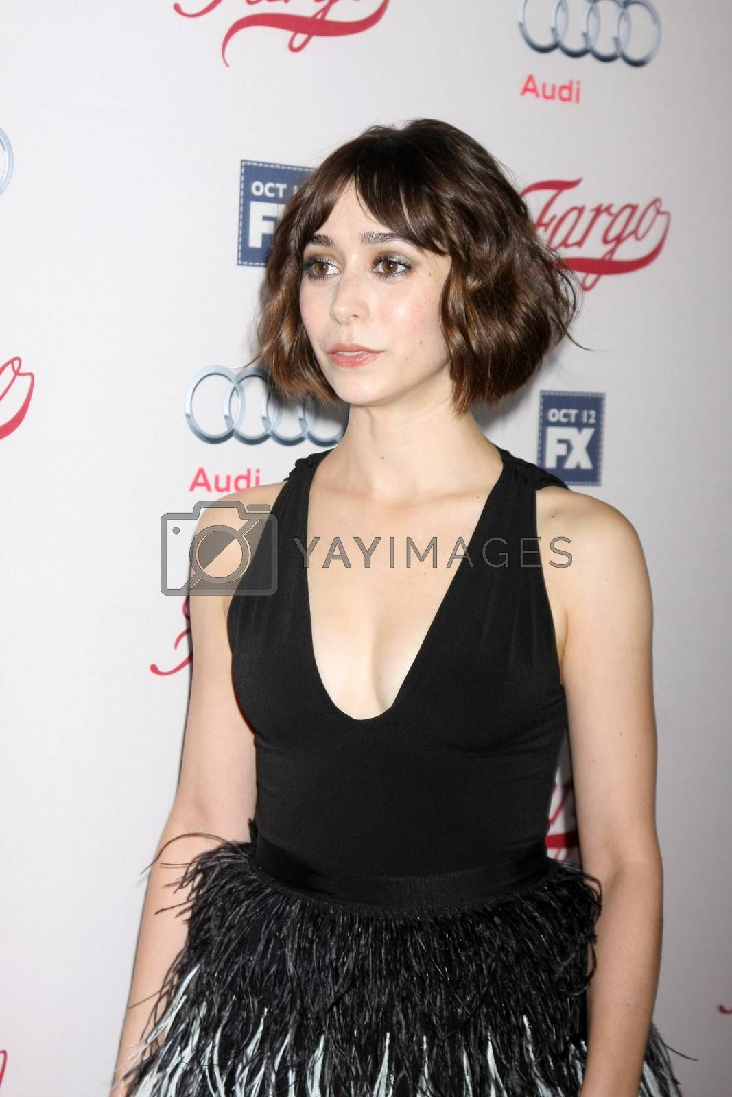 "Cristin Milioti at the ""Fargo"" Season 2 Premiere Screening, ArcLight, Hollywood, CA 10-07-15/ImageCollect by ImageCollect"