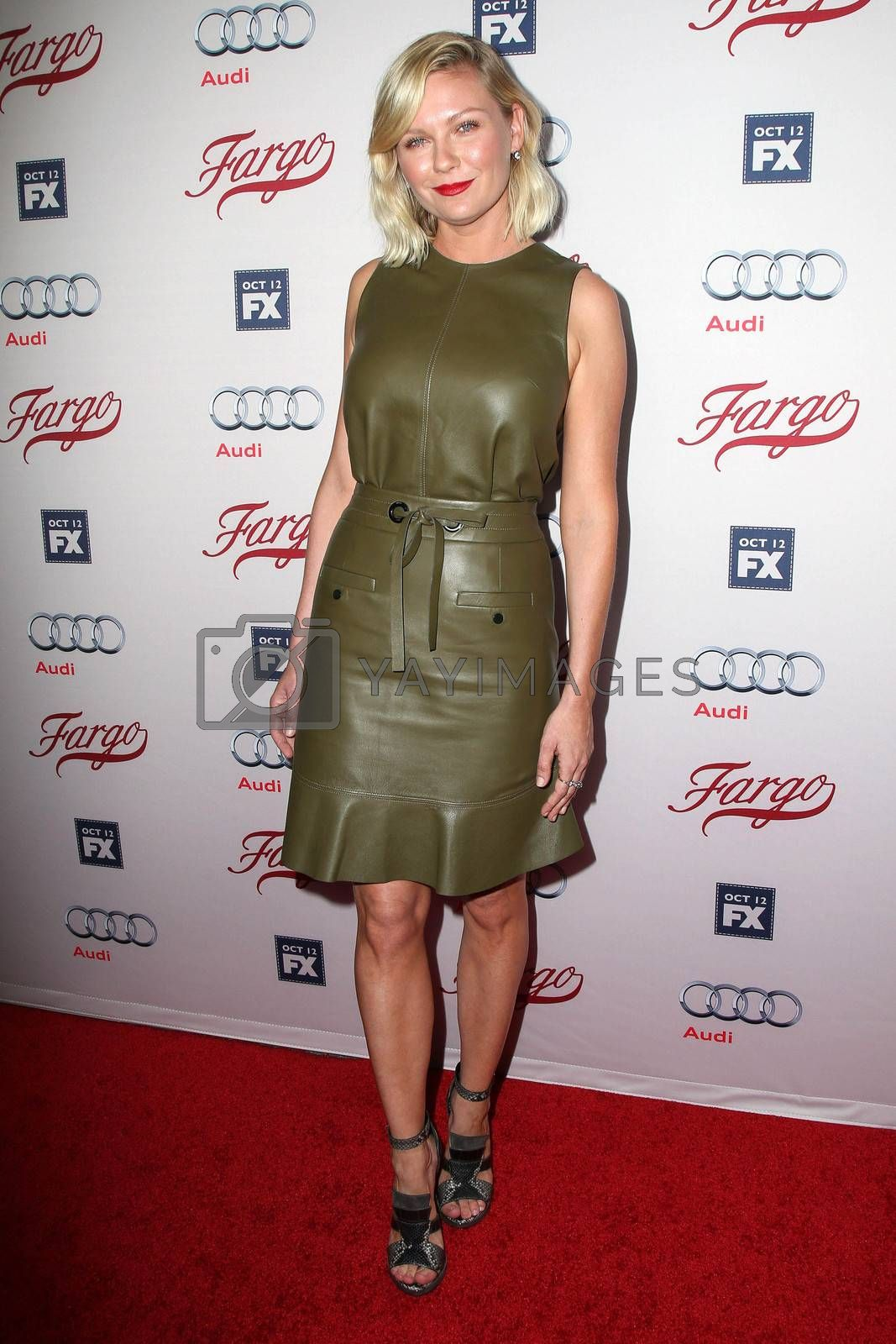 "Kirsten Dunst at the ""Fargo"" Season 2 Premiere Screening, ArcLight, Hollywood, CA 10-07-15/ImageCollect by ImageCollect"