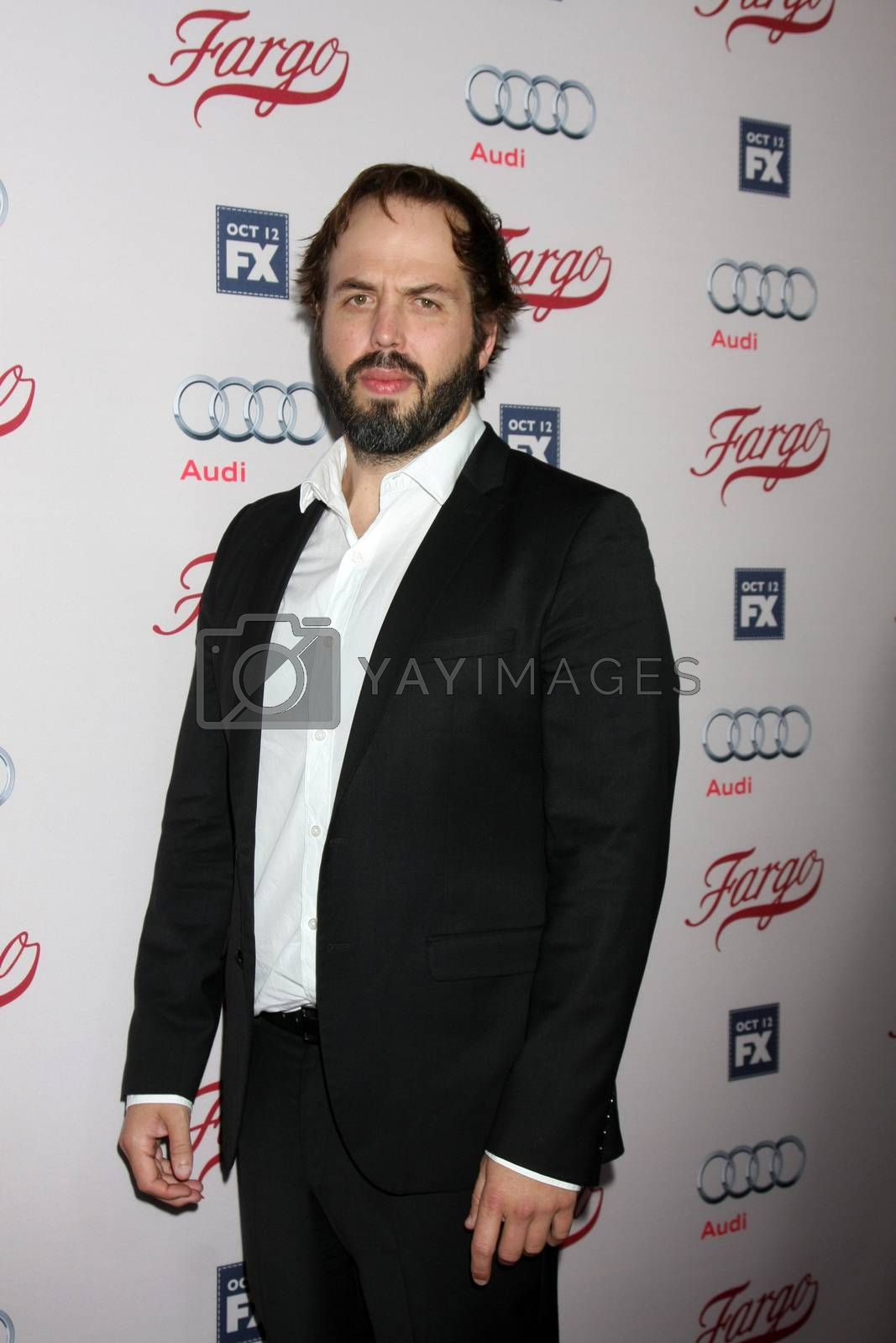 """Angus Sampson at the """"Fargo"""" Season 2 Premiere Screening, ArcLight, Hollywood, CA 10-07-15/ImageCollect by ImageCollect"""