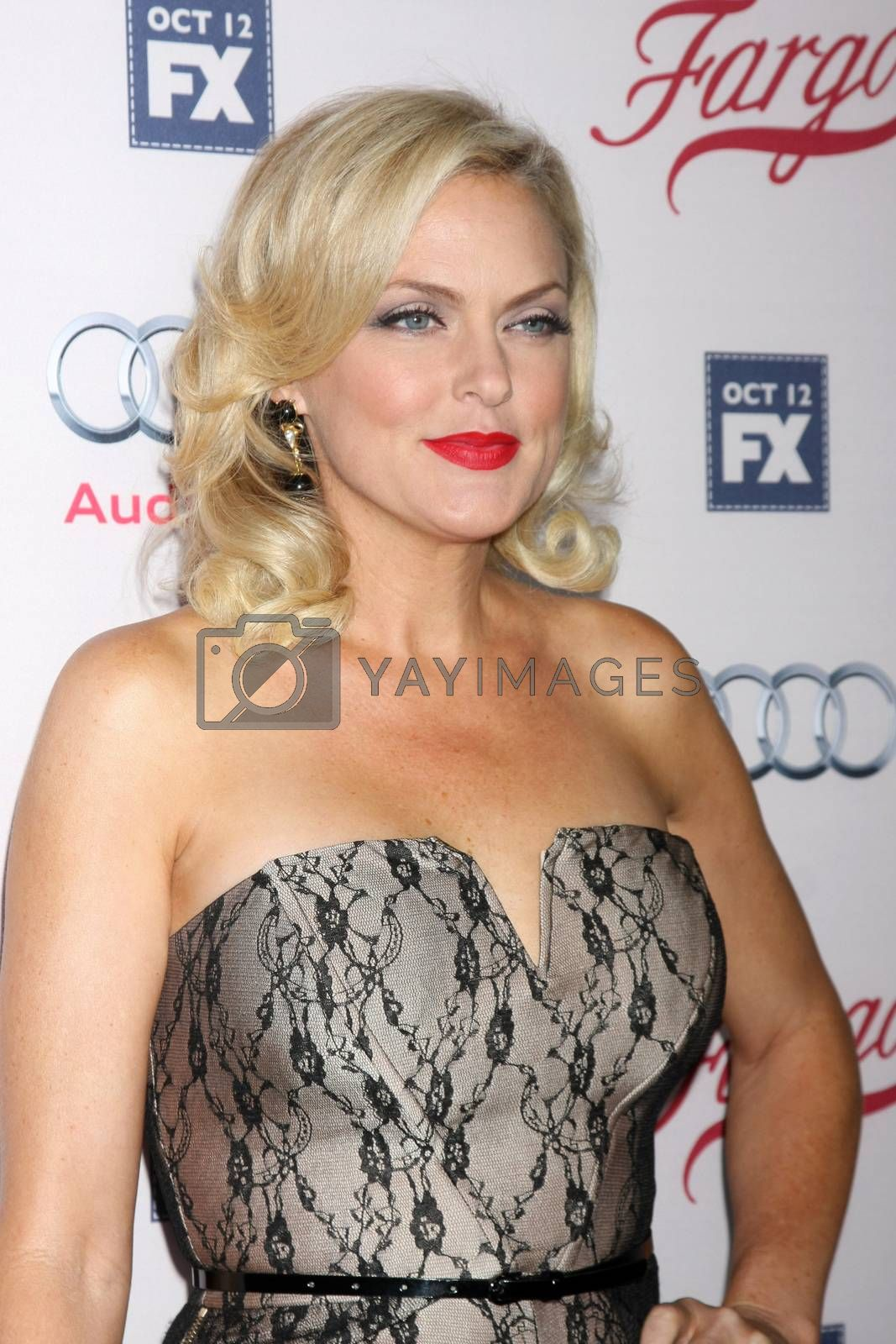 """Elaine Hendrix at the """"Fargo"""" Season 2 Premiere Screening, ArcLight, Hollywood, CA 10-07-15/ImageCollect by ImageCollect"""