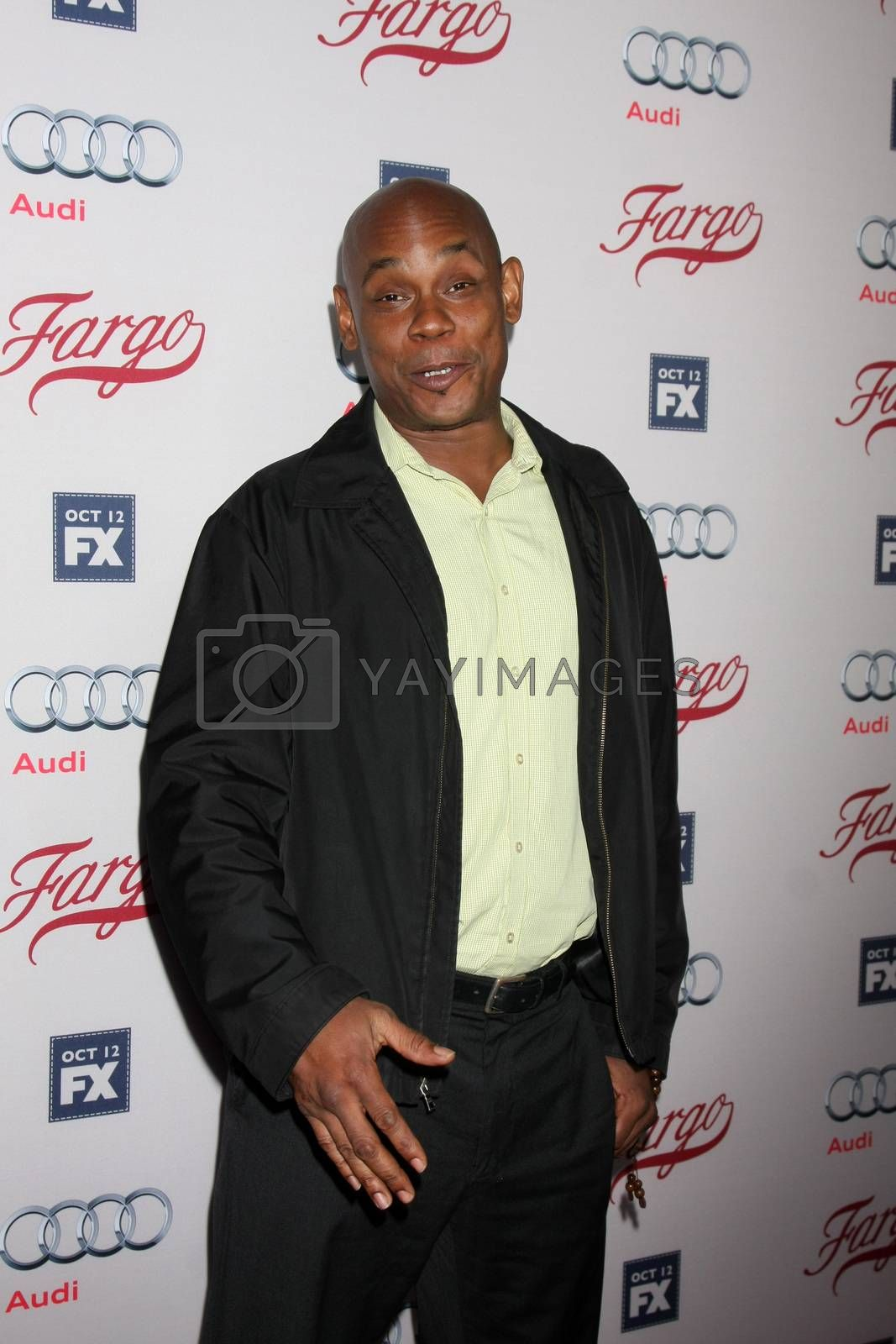 "Bokeem Woodbine at the ""Fargo"" Season 2 Premiere Screening, ArcLight, Hollywood, CA 10-07-15/ImageCollect by ImageCollect"