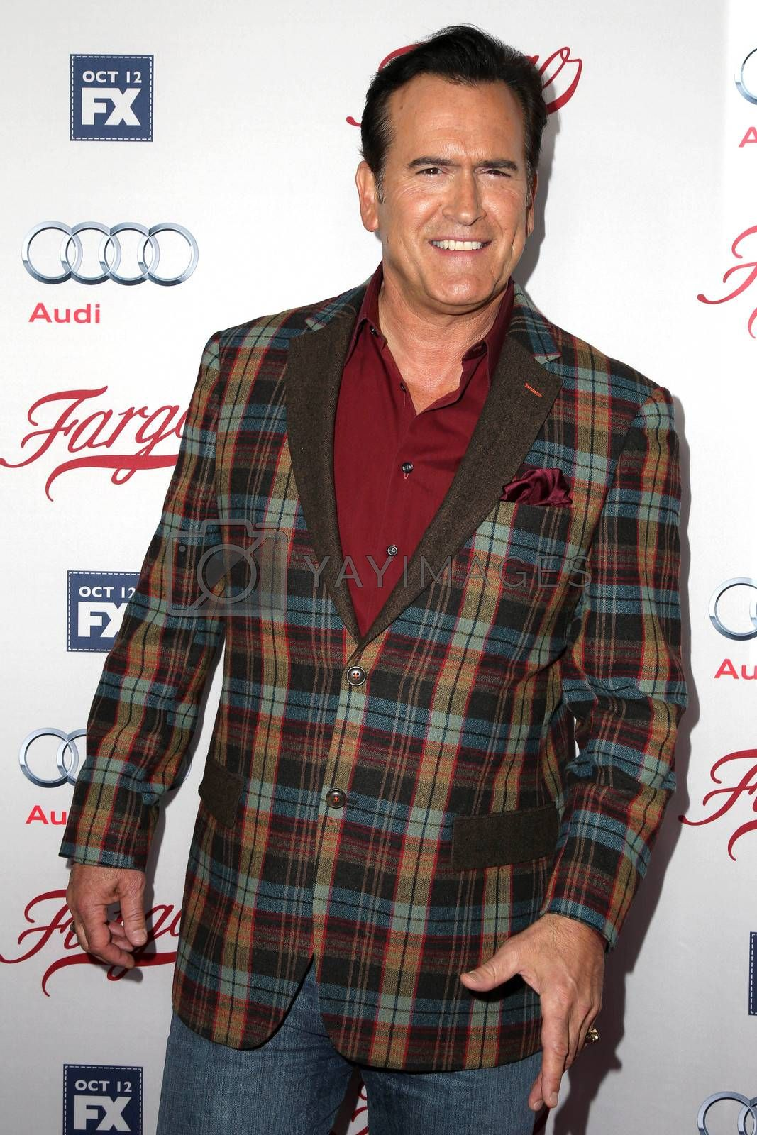 """Bruce Campbell at the """"Fargo"""" Season 2 Premiere Screening, ArcLight, Hollywood, CA 10-07-15/ImageCollect by ImageCollect"""