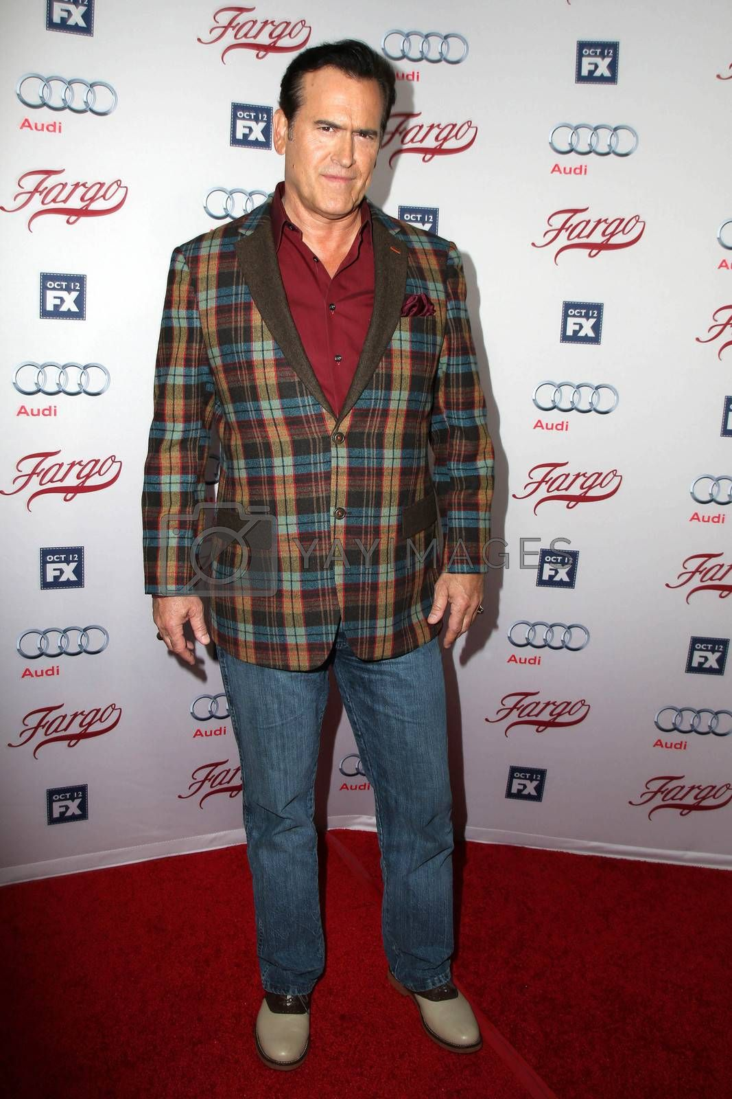 "Bruce Campbell at the ""Fargo"" Season 2 Premiere Screening, ArcLight, Hollywood, CA 10-07-15/ImageCollect by ImageCollect"